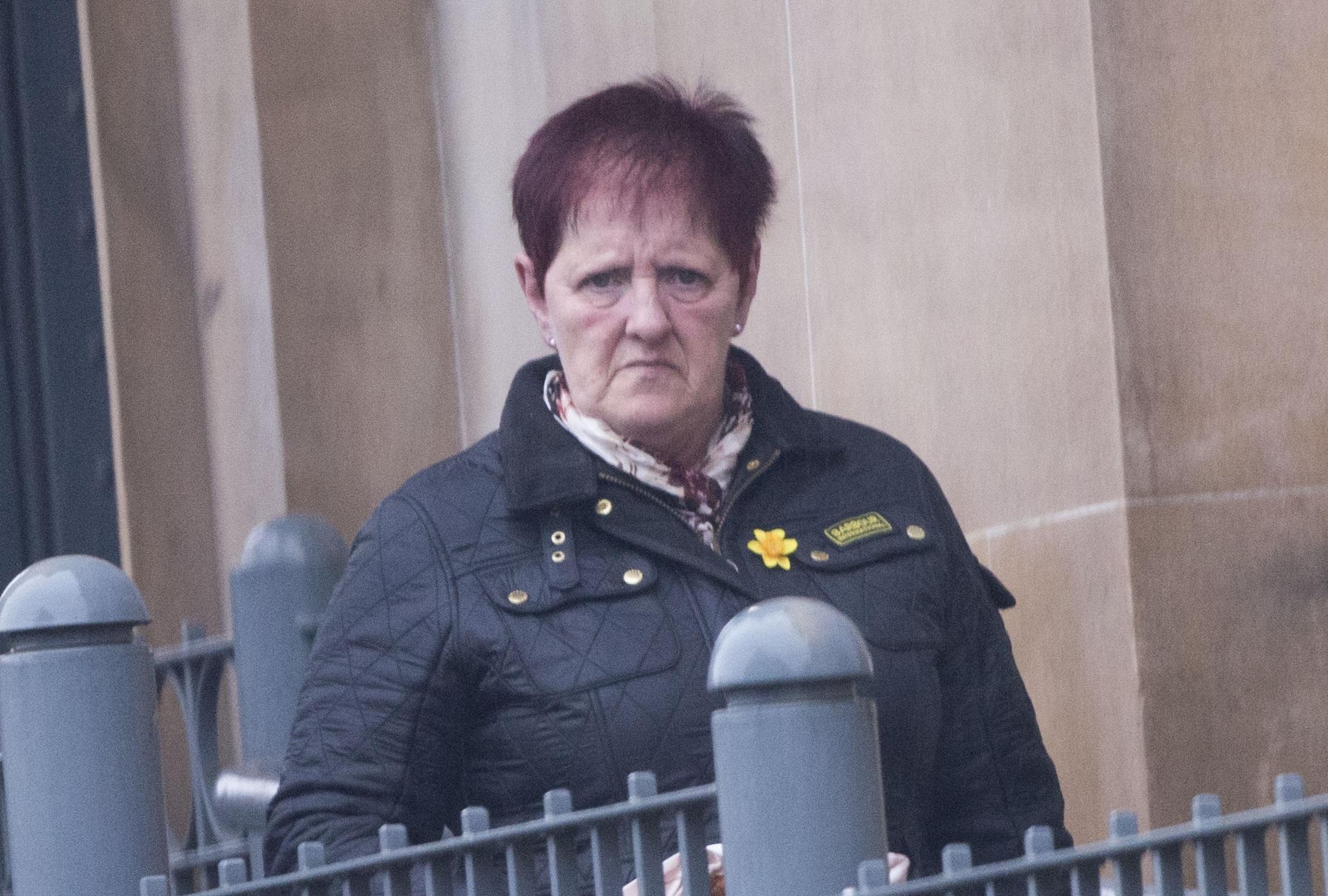 Anita Brown at Dundee Sheriff Court