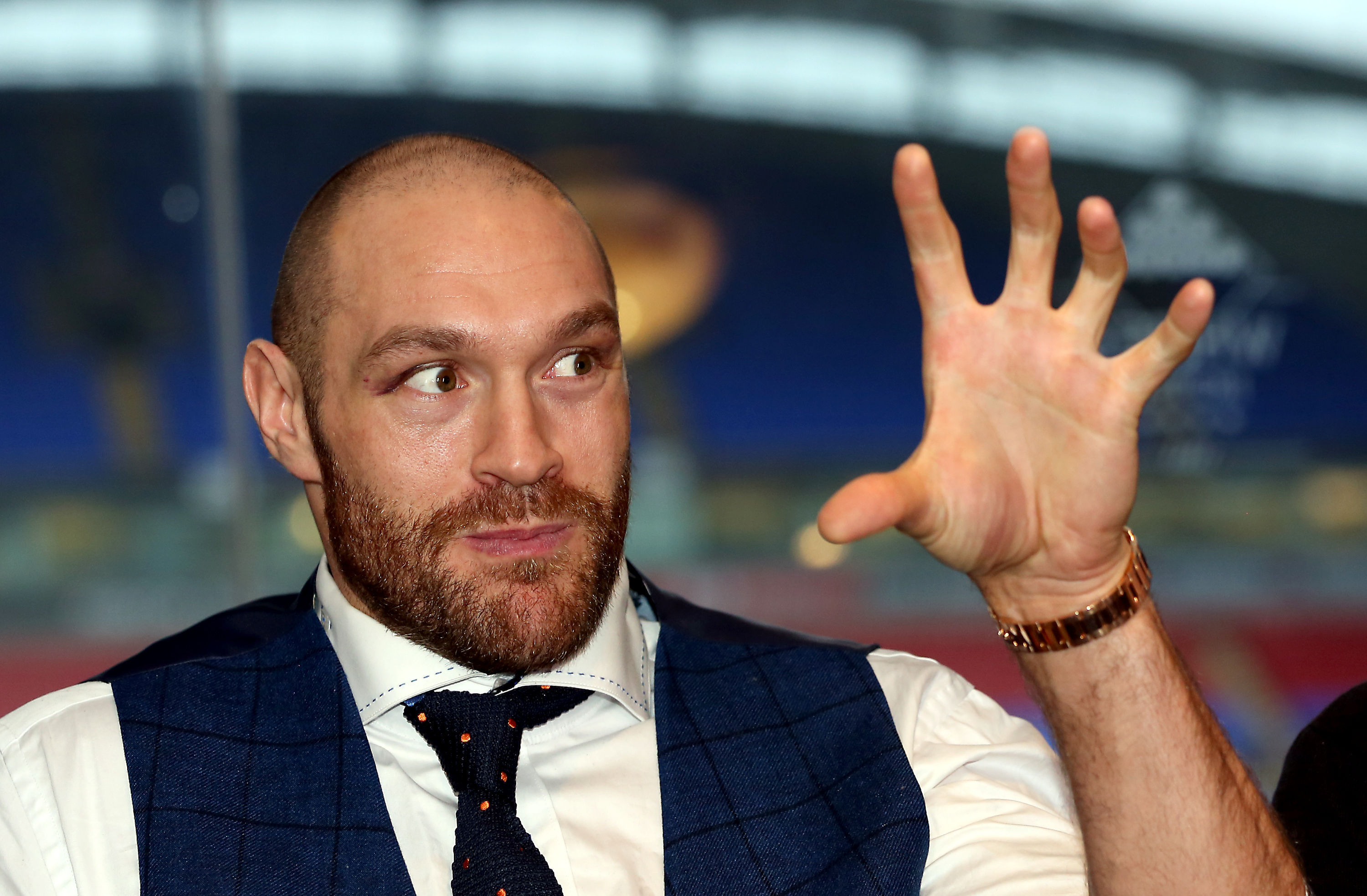 Tyson Fury became world heavyweight champion following his victory over Wladimir Klitschko.