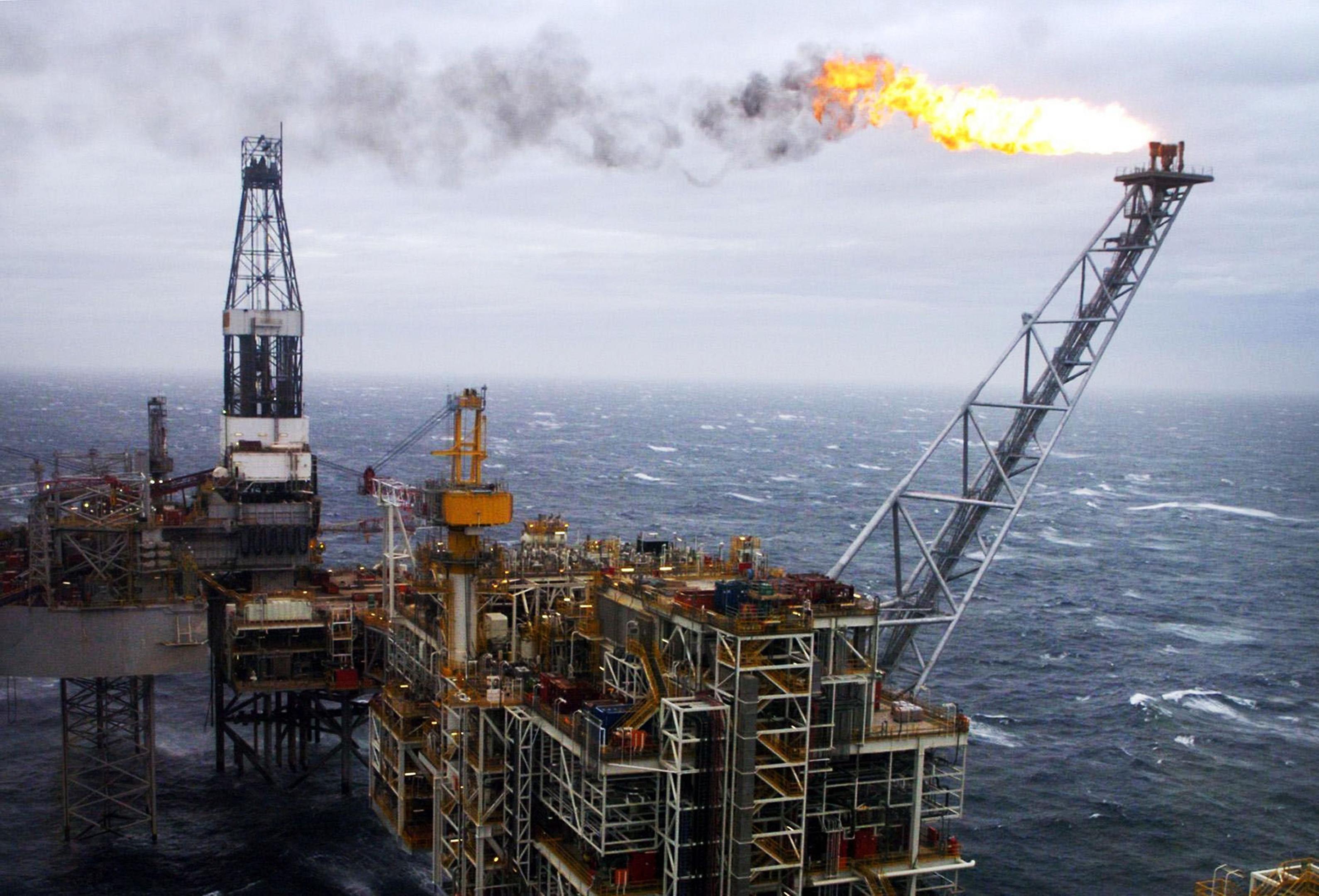 A North Sea Rig. (Library image).