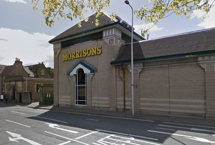 Morrisons was said to be closed to customers for a while