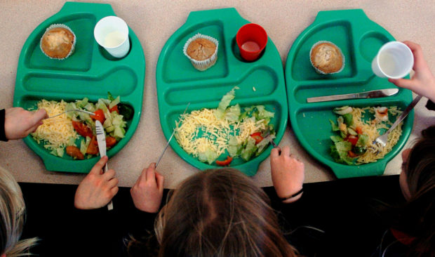 The numbers taking up meals in schools are rising overall.