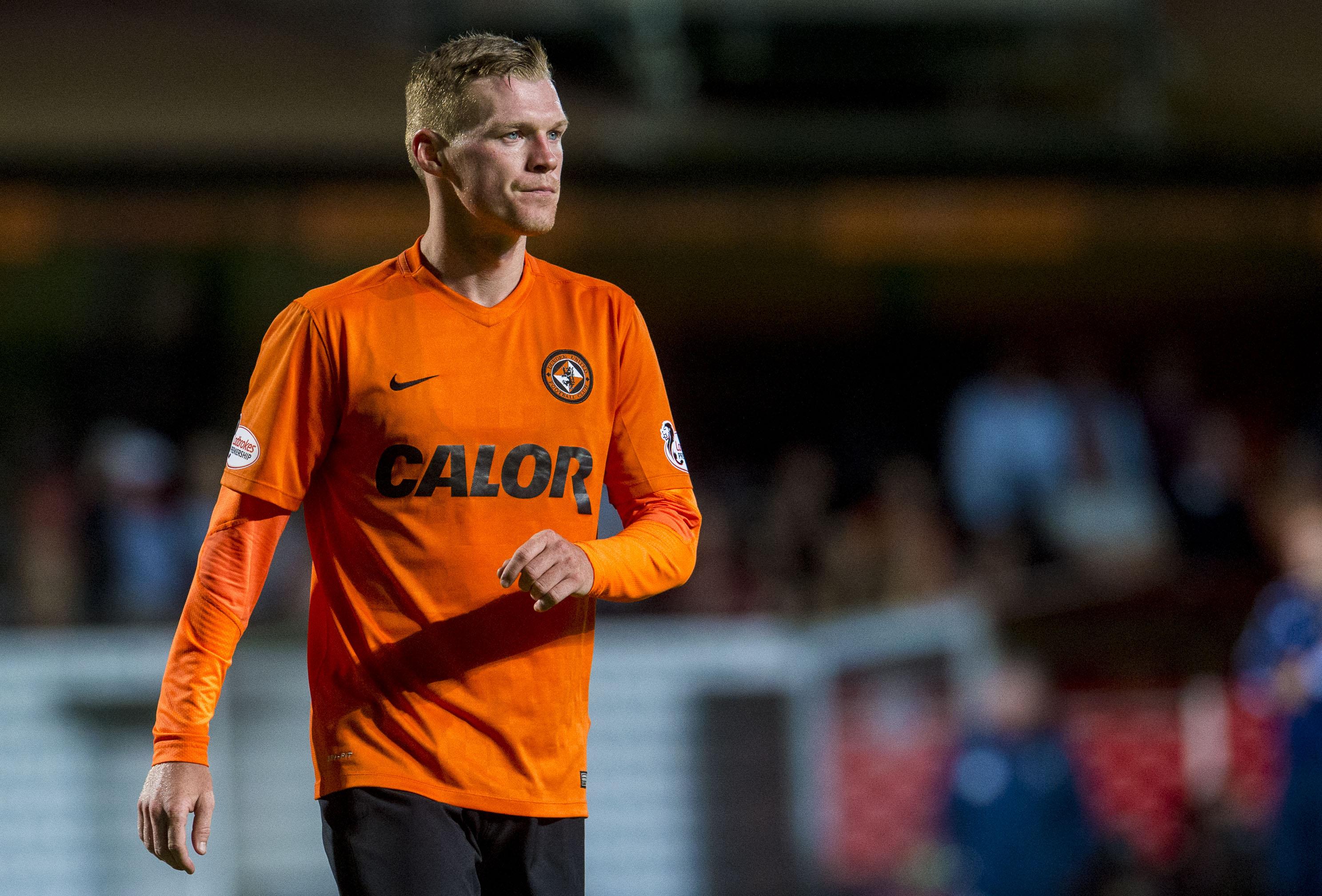 Dundee United striker Billy Mckay.