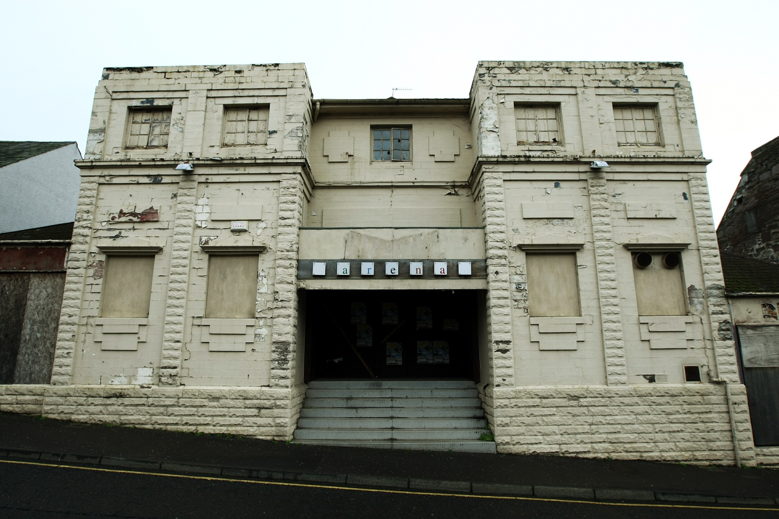 The legendary Flick's nightclub in Brechin