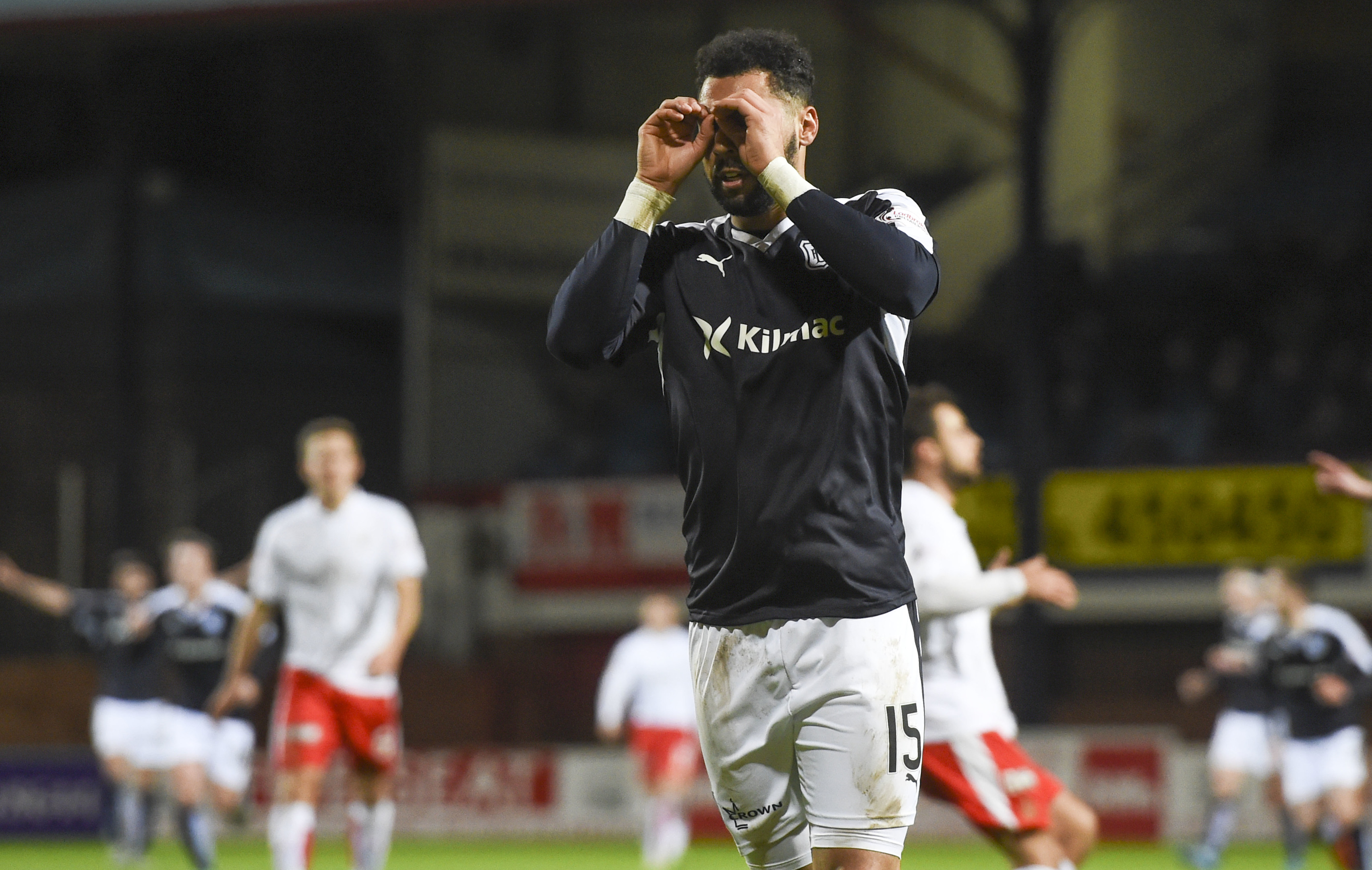 Dundee striker Kane Hemmings' two goals in last night's 3-1 Scottish Cup fourth-round win over Falkirk made it nine in his last six games.