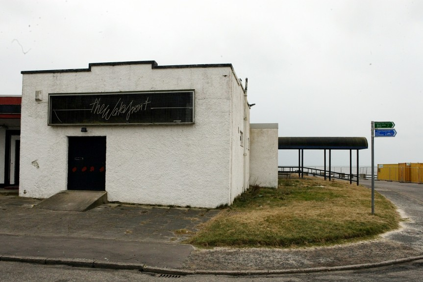 The Waterfront nightclub in Arbroath