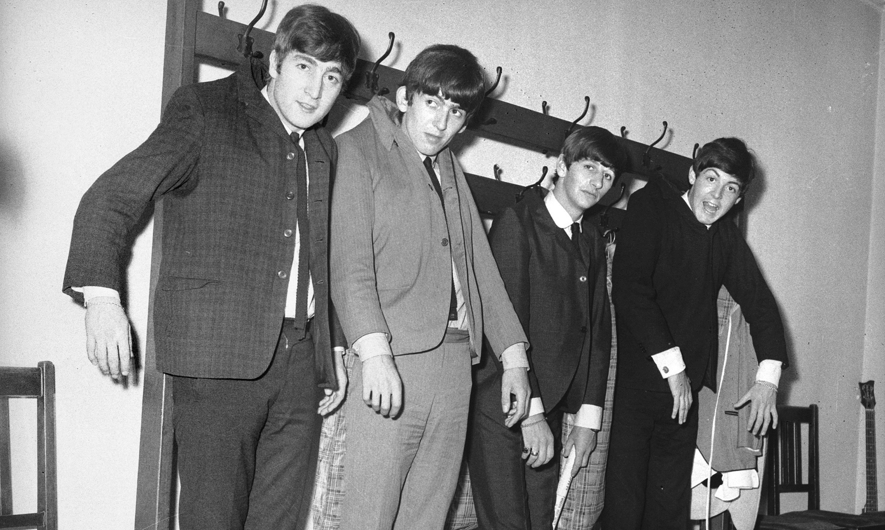 The Beatles at Caird Hall in 1963