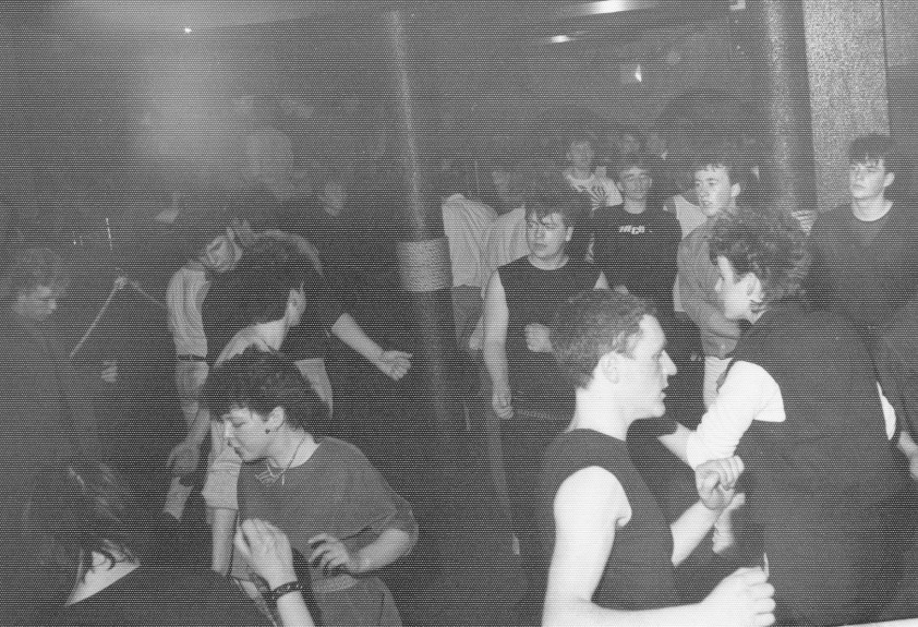 A packed dancefloor at Club Feet in the old Tay Hotel.