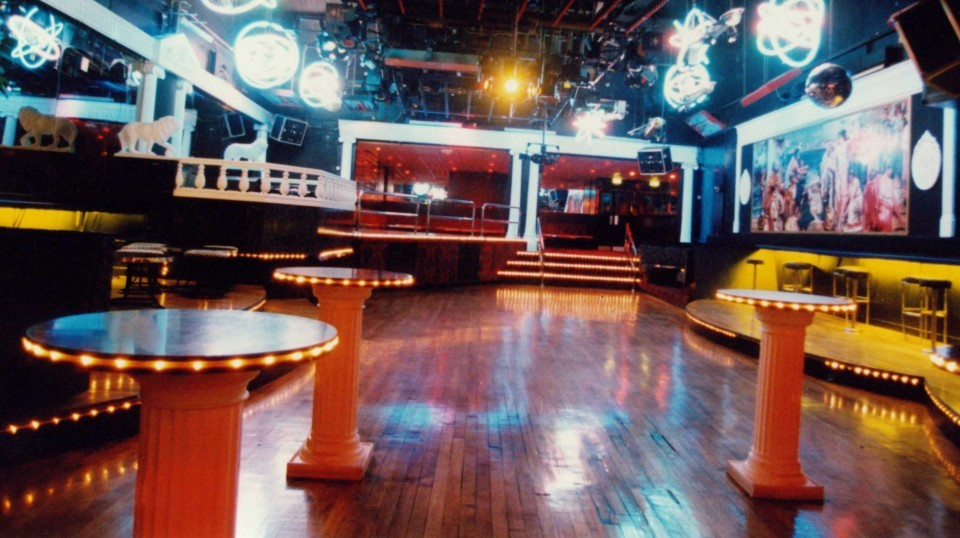 The dancefloor inside the Colosseum in 1996.