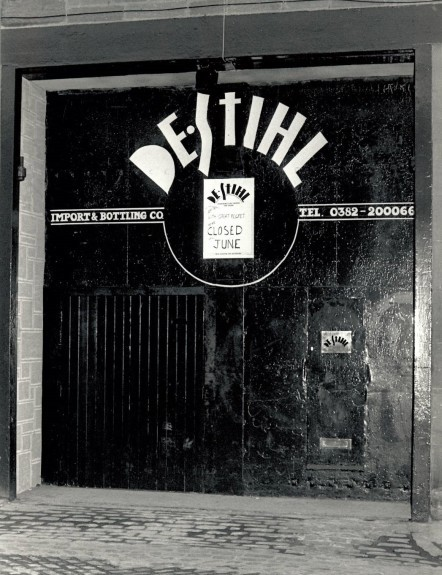 The front door of the old De Stihl's club on South Ward Road. The building has since been demolished.