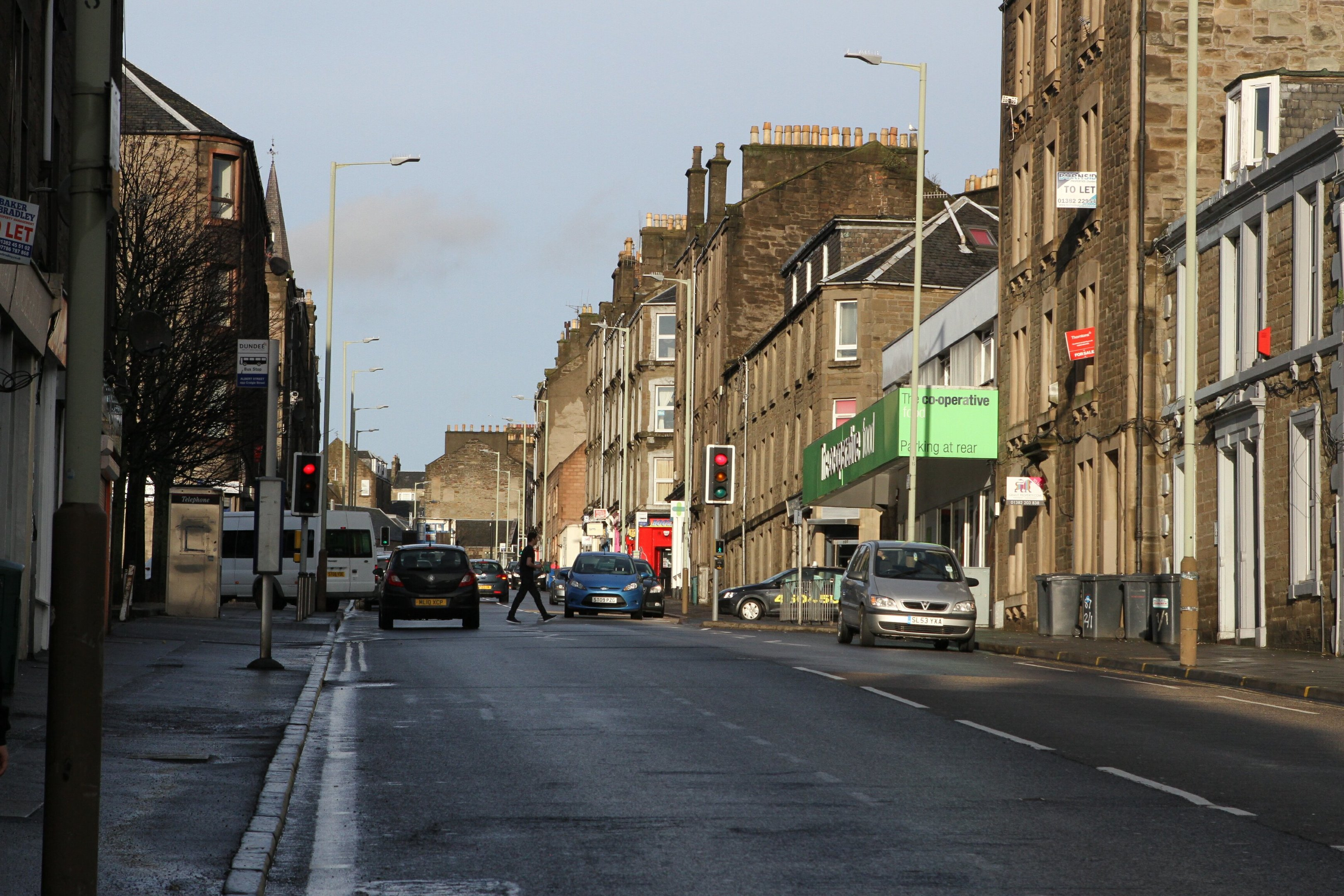 Albert Street (stock image)