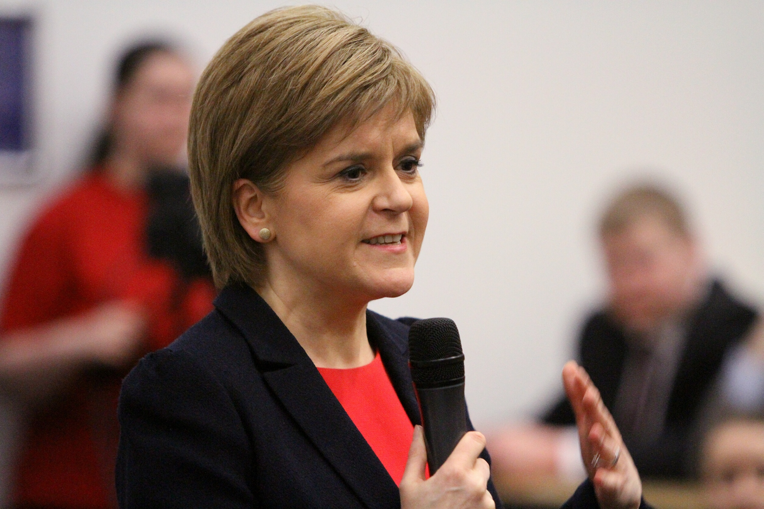 "Nicola Sturgeon: ""I'm fully supportive of the Let's Get Dundee Working campaign."""