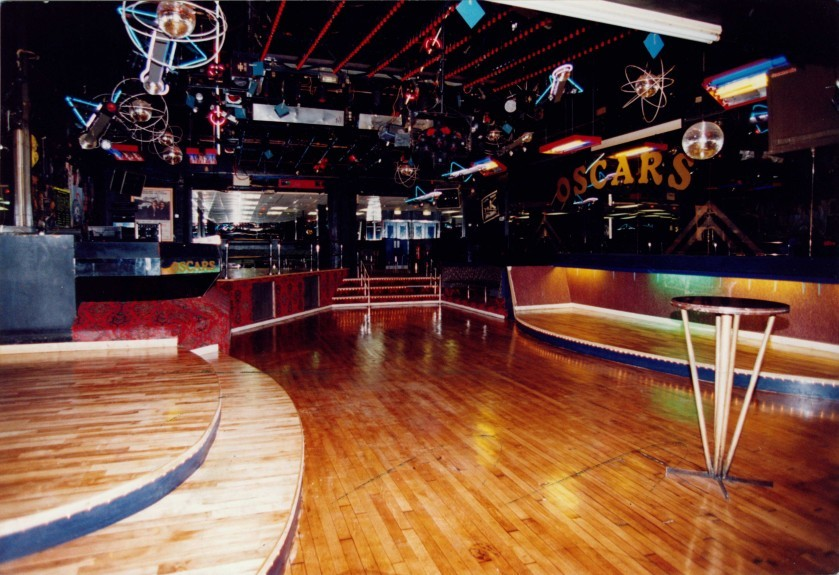 Oscar's dancefloor in 1995.