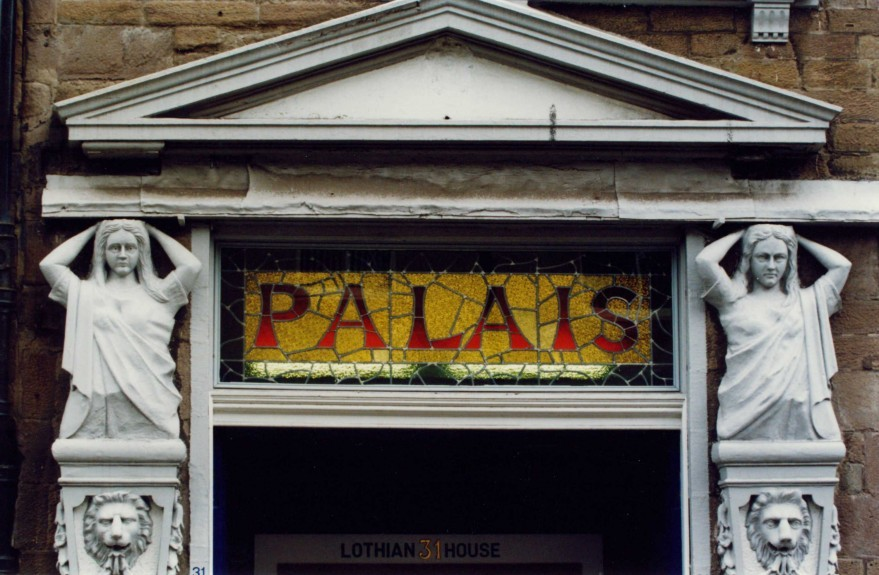 The entrance to the Palais dance hall on South Tay Street.