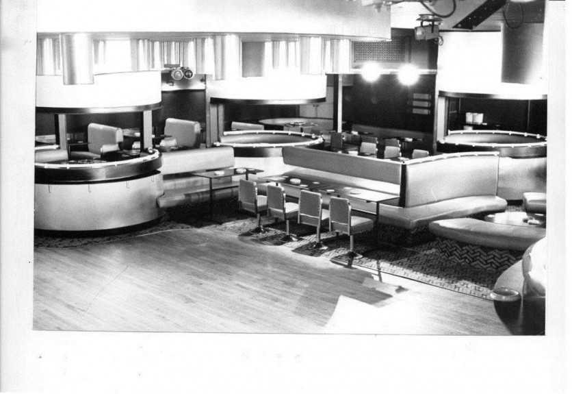 The interior of the old Sands nightclub in Broughty Ferry