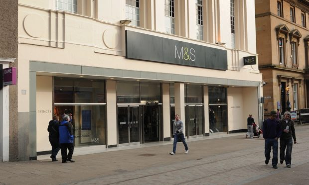 The Marks & Spencer store in Murraygate (stock image).