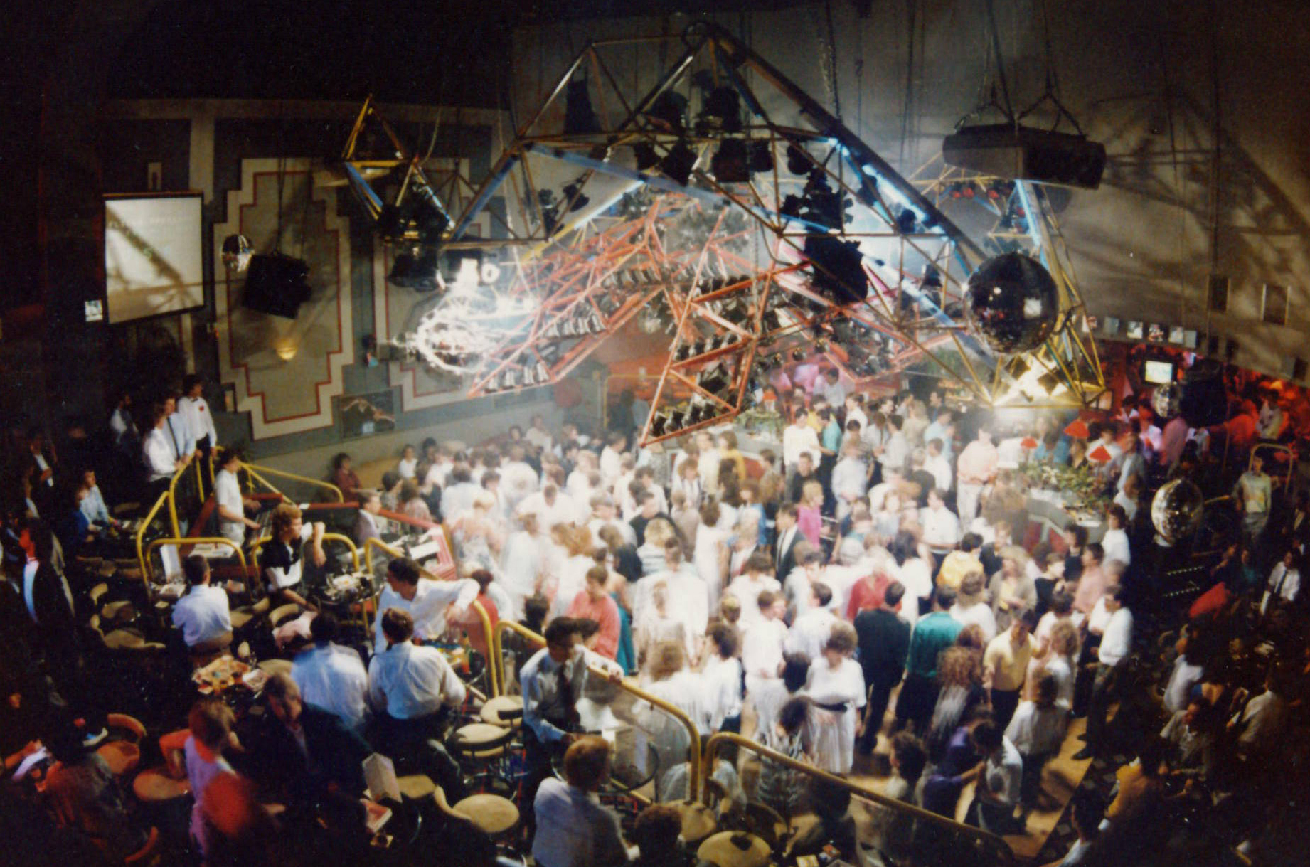 Flicks nightclub in its heyday