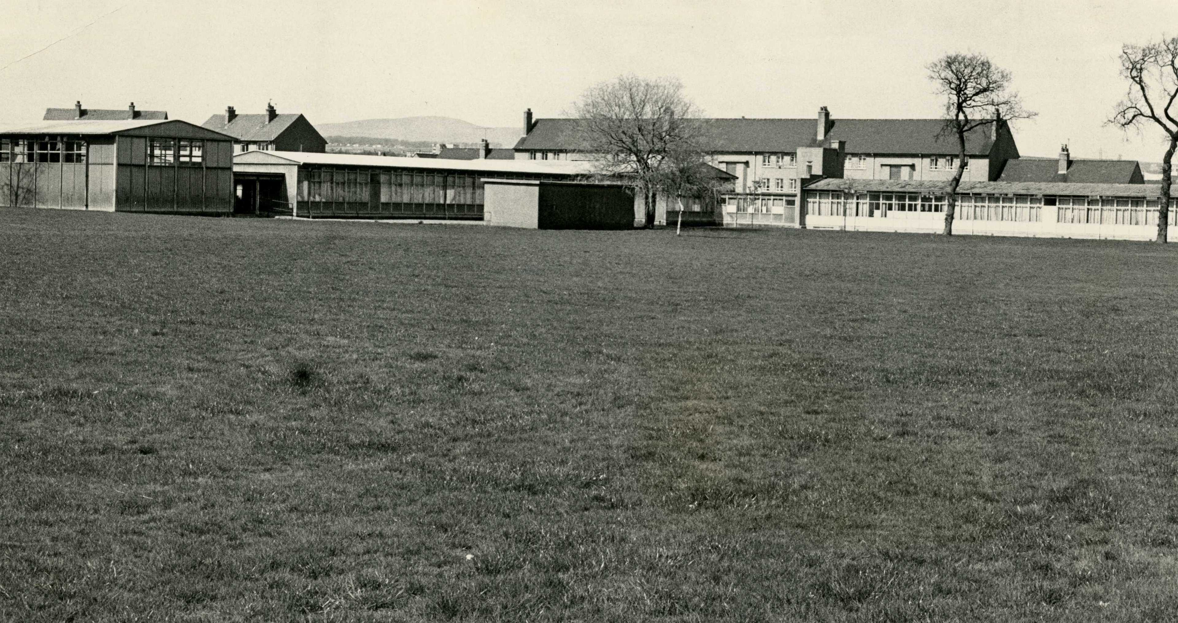 1985 and the grounds of the old Balerno Primary School, which was later demolished.