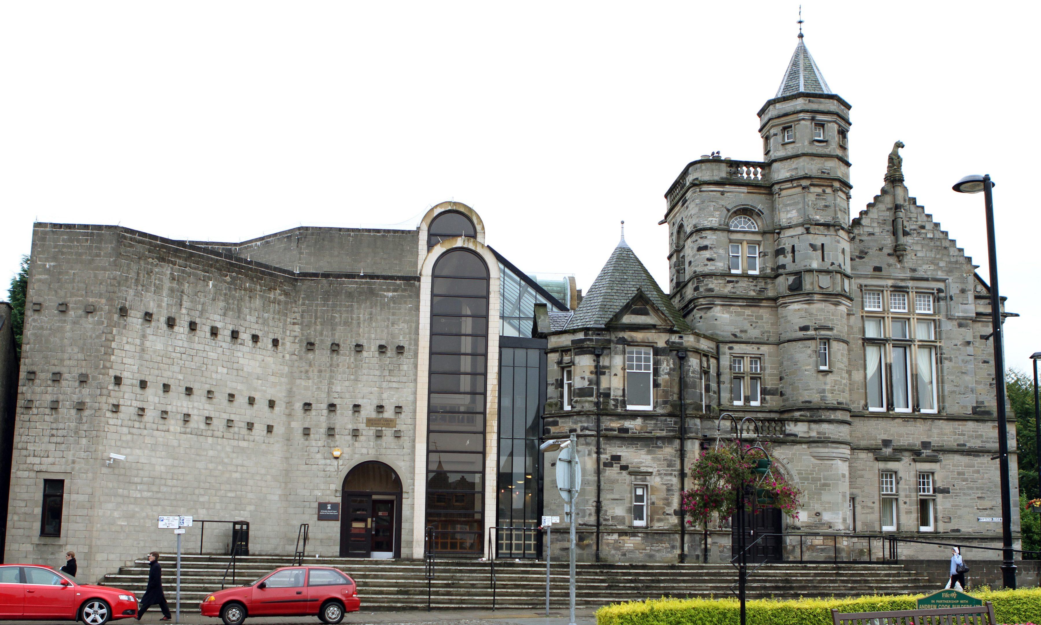Kirkcaldy Sheriff Court (stock image)