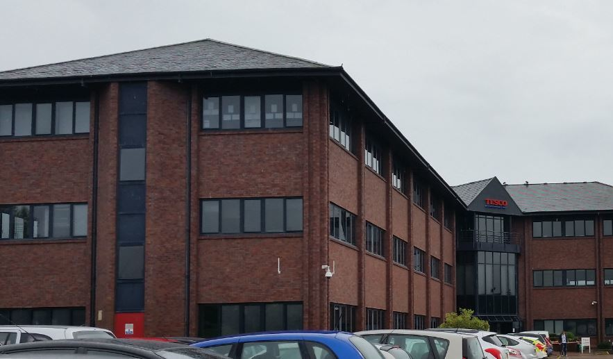 The Tesco call centre in Dundee