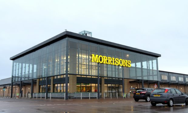 Morrisons in Dundee.