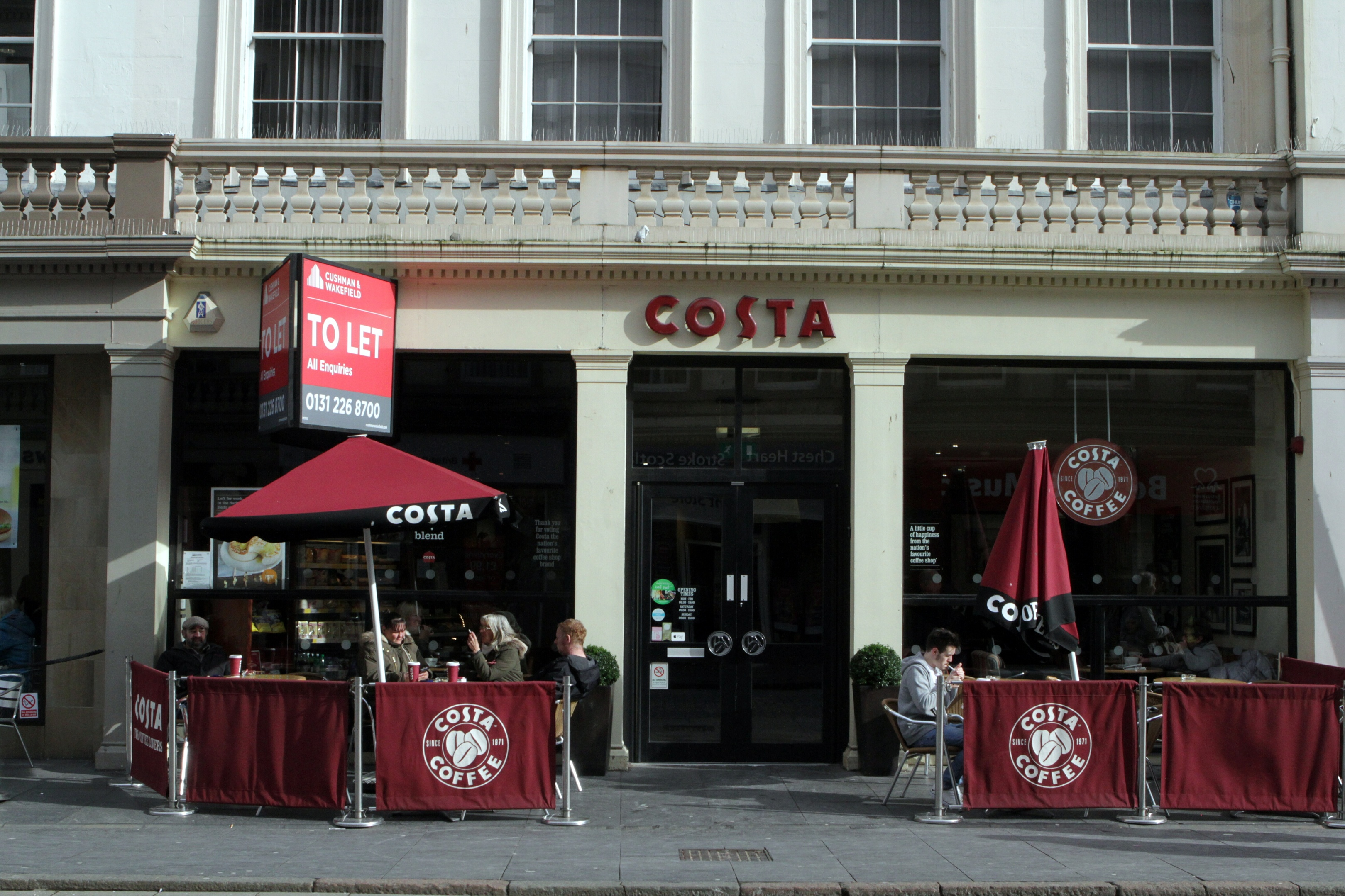 The Costa unit could be occupied by a new licensed restaurant.