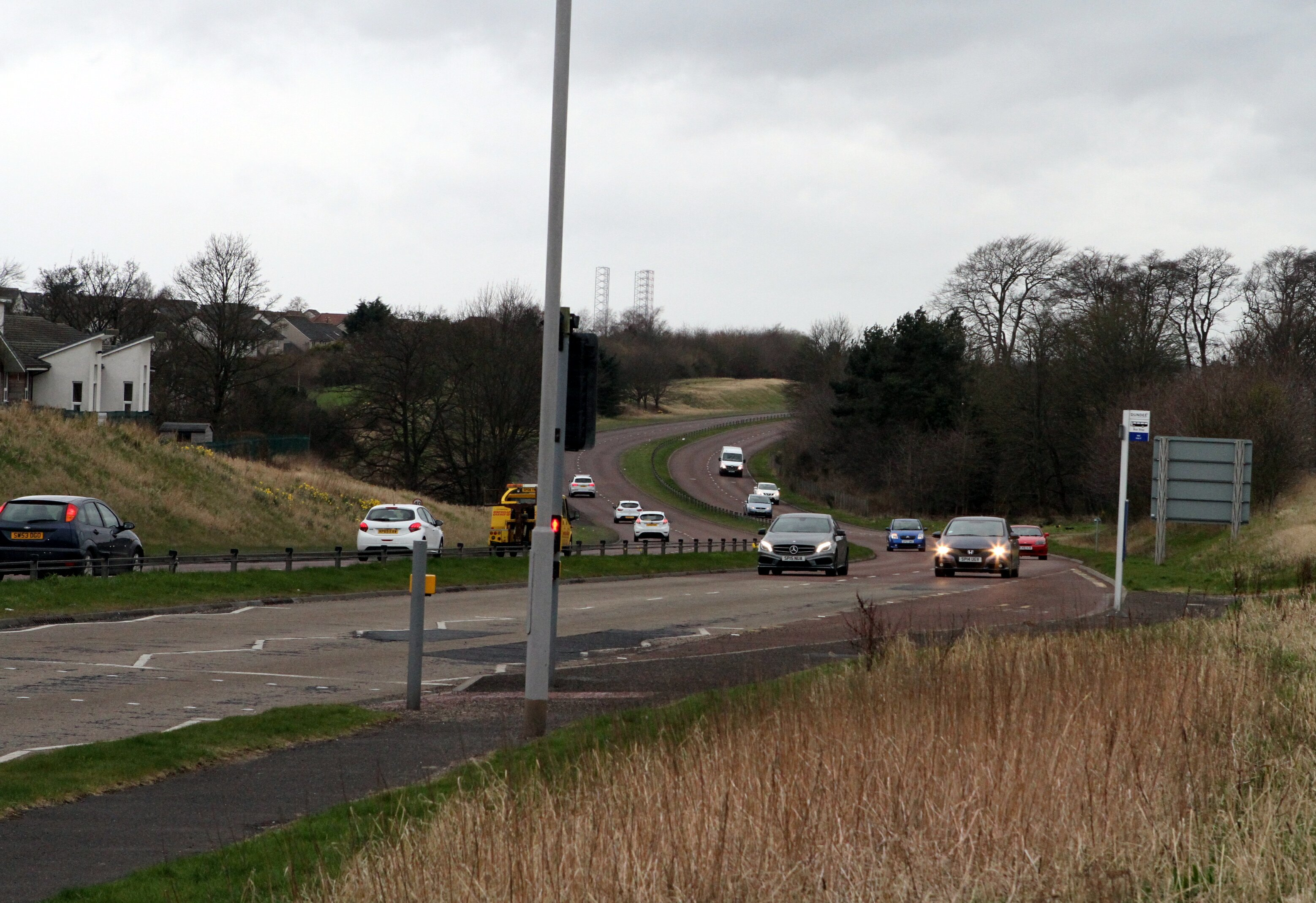 The A92 Arbroath Road (stock image)