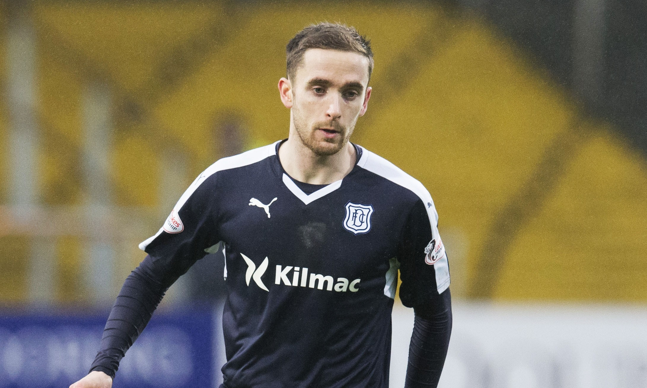 Nick Ross has become a mainstay in Dundee's midfield.