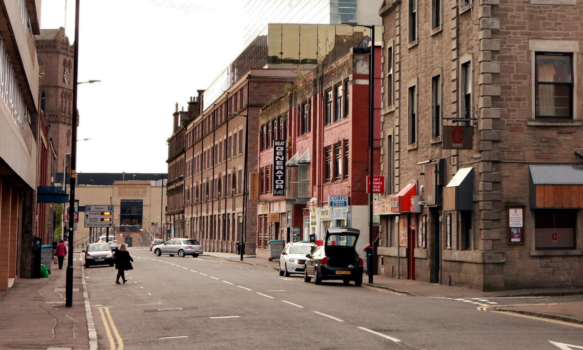 North Lindsay Street.
