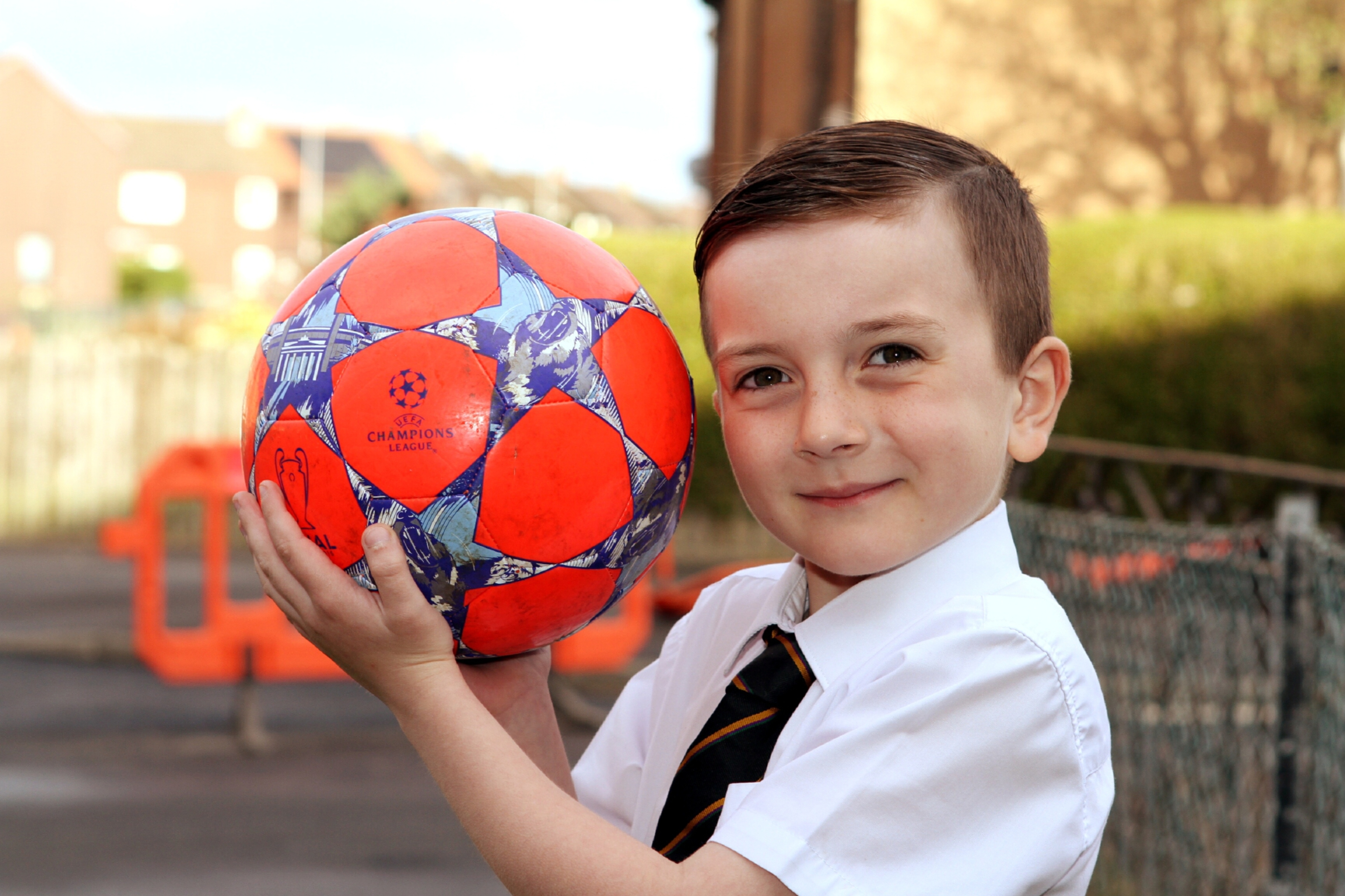 Bailey will be the mascot at this week's Champions League match between Manchester City and Real Madrid.