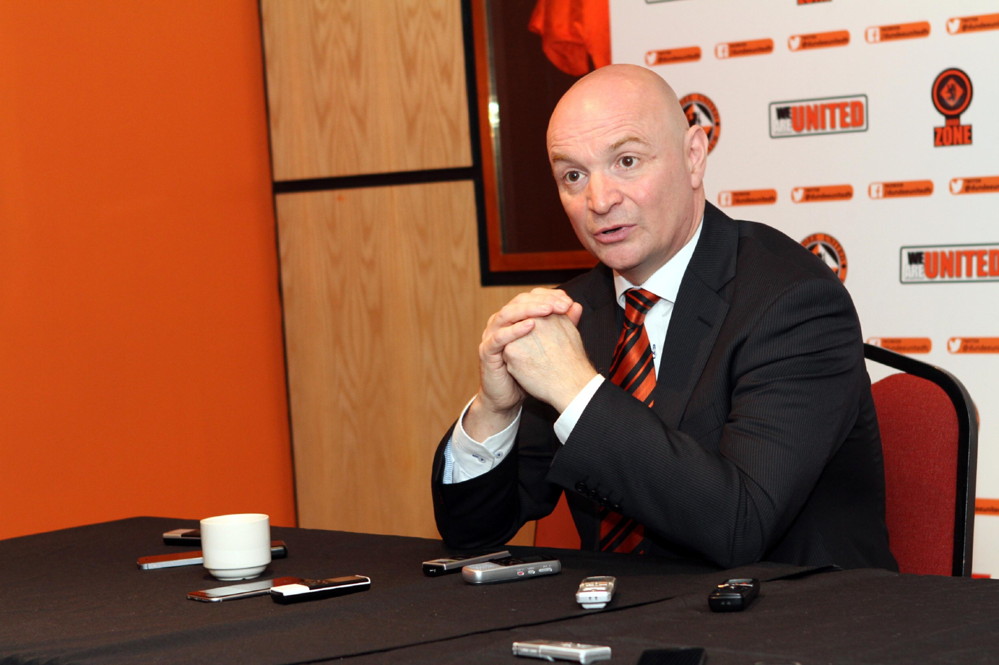 Dundee United chairman Stephen Thompson.