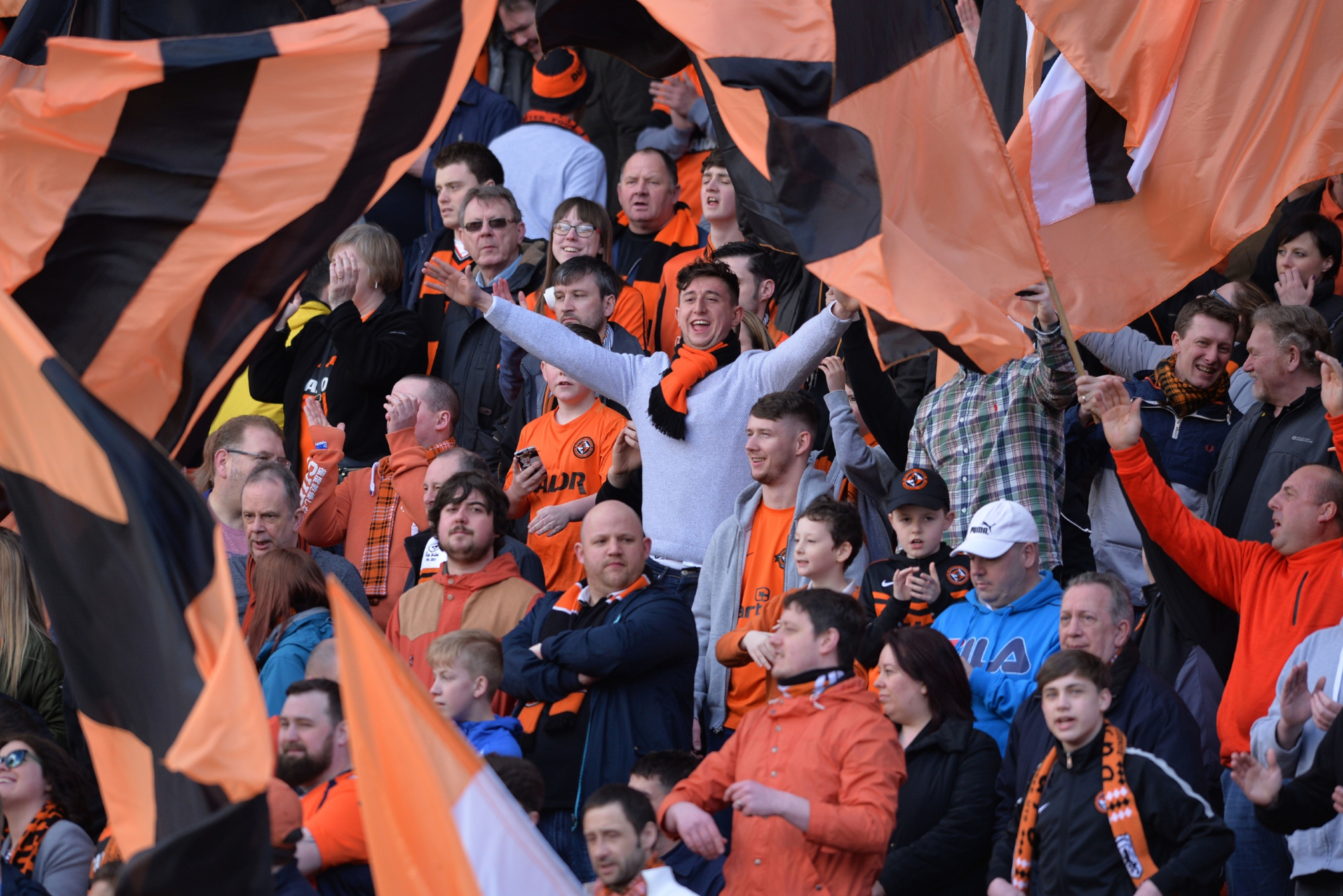 Dundee United fans have been warned that train journeys to and from Glasgow will be affected.