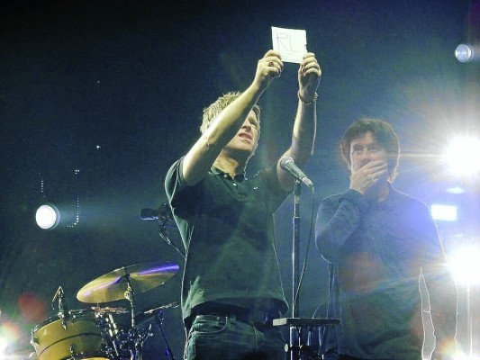 Noel with the CD
