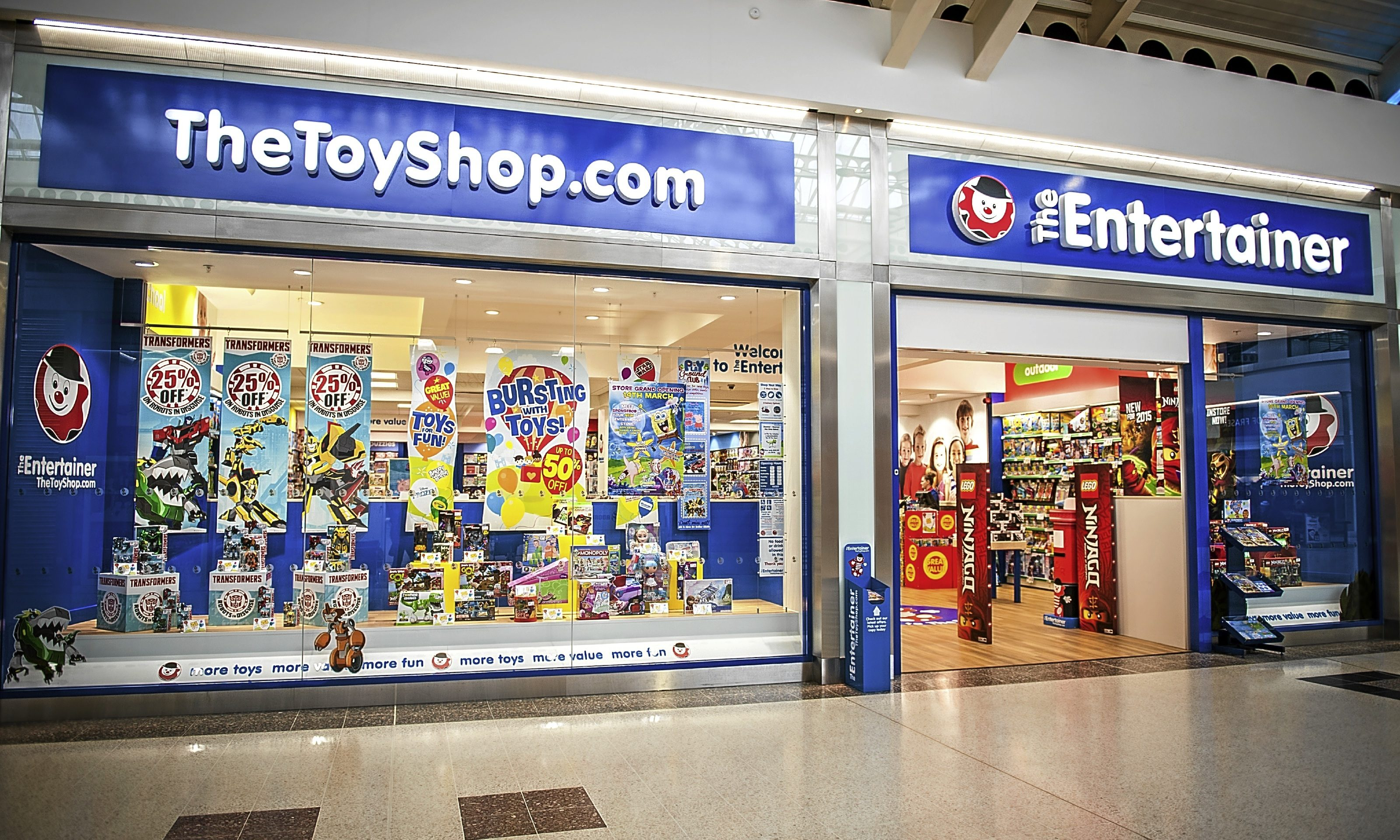 The Entertainer store in the Wellgate.