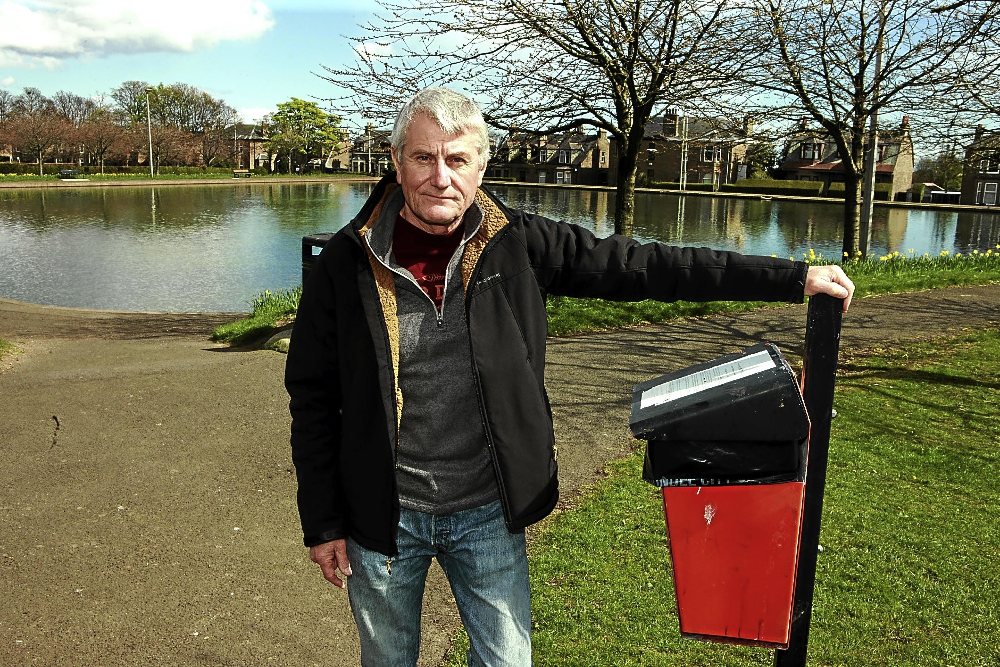 Alan March at Stobsmuir Park