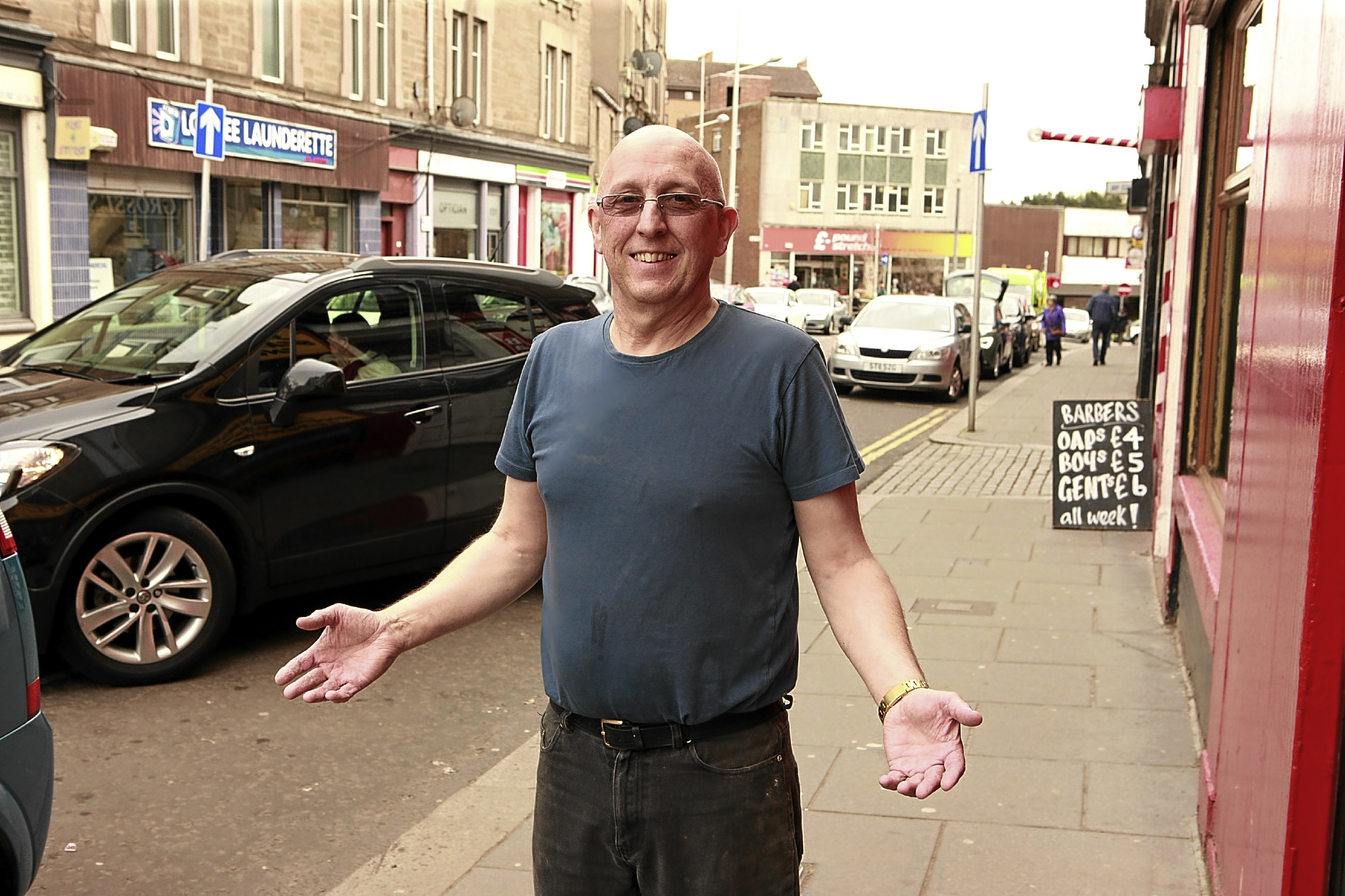 Lochee Traders Association chairman Paul Smith