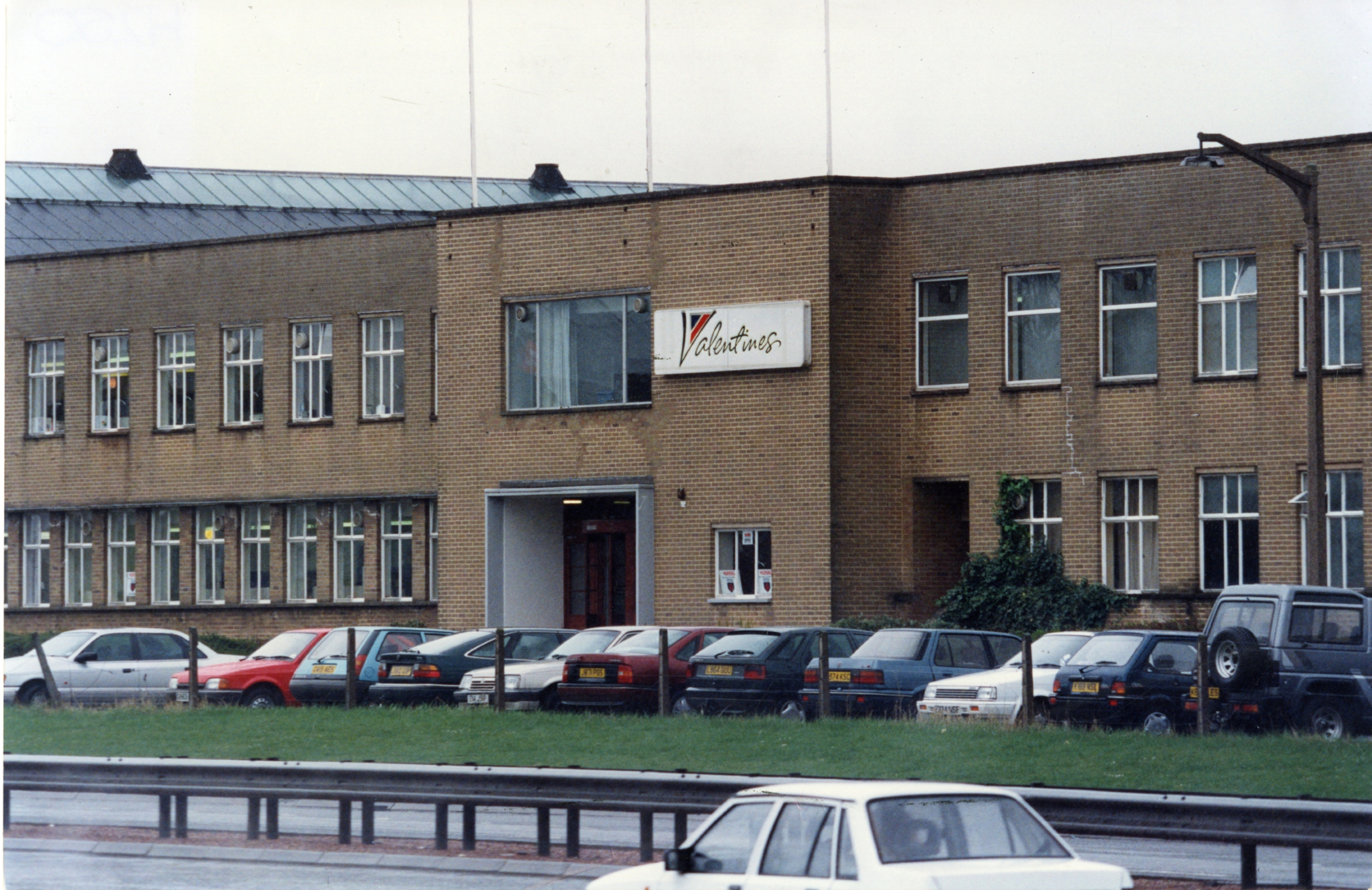 The Valentines factory when still in operation