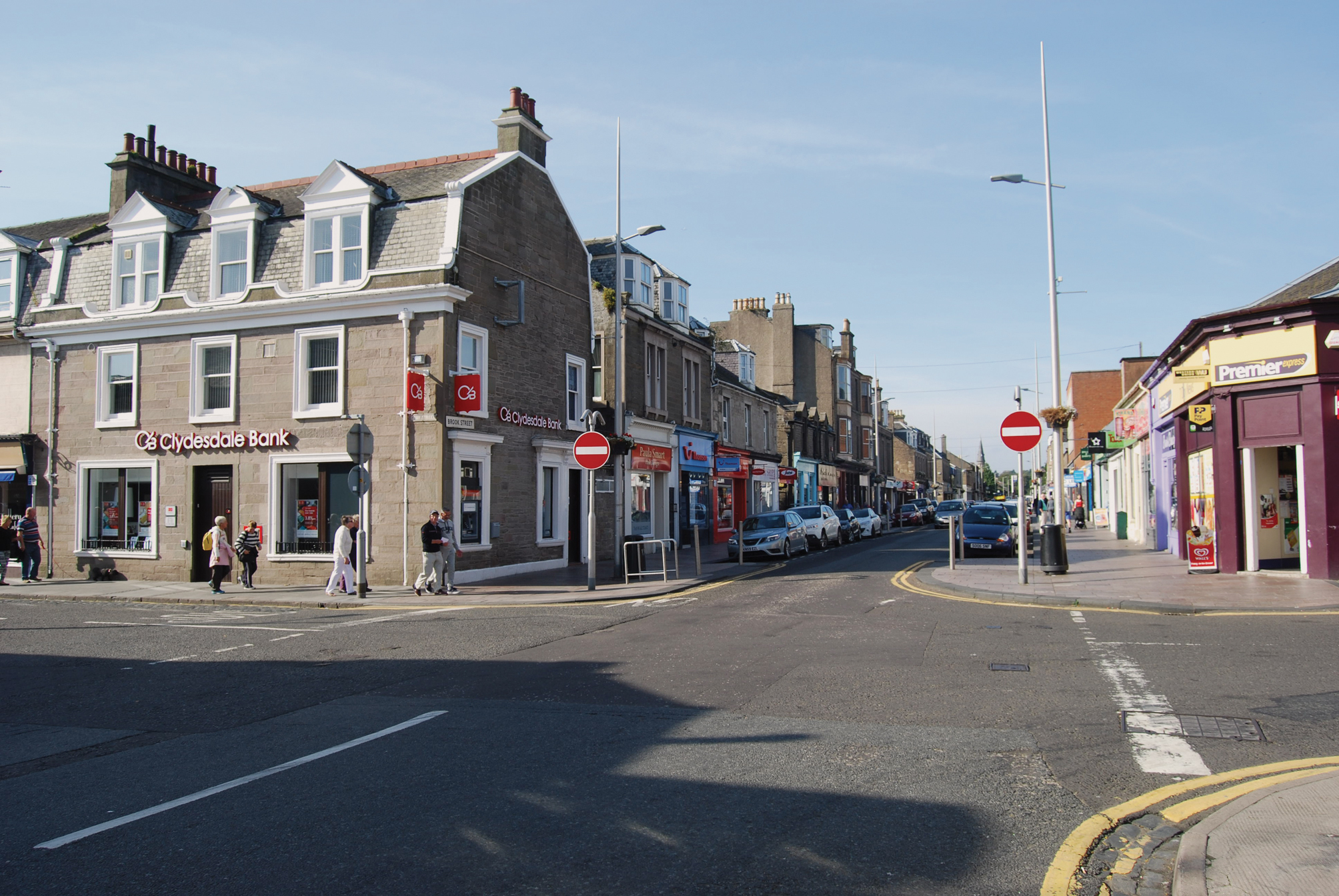 The incident is said to have happened in Brook Street, Broughty Ferry.