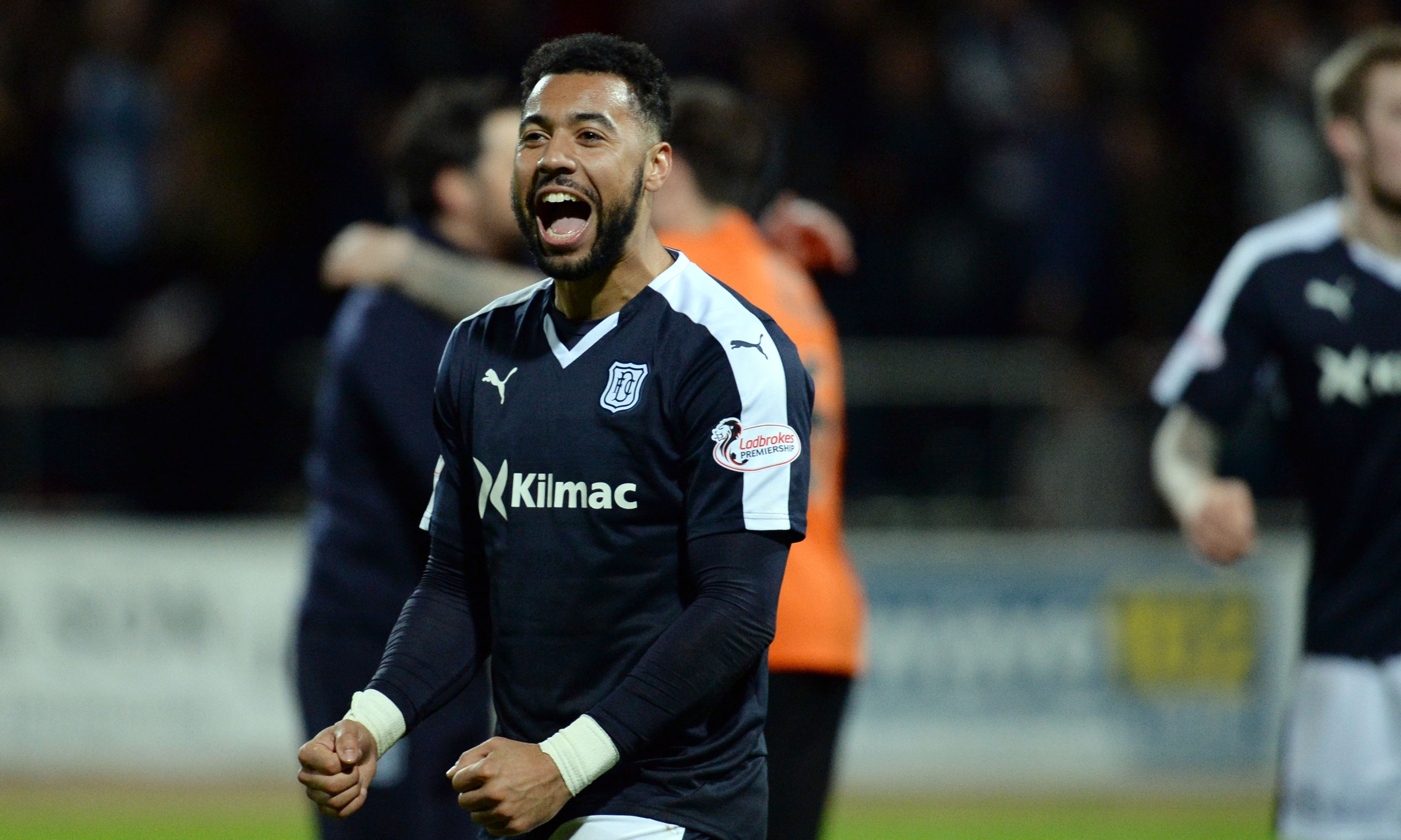 Kane Hemmings has returned to Dundee.
