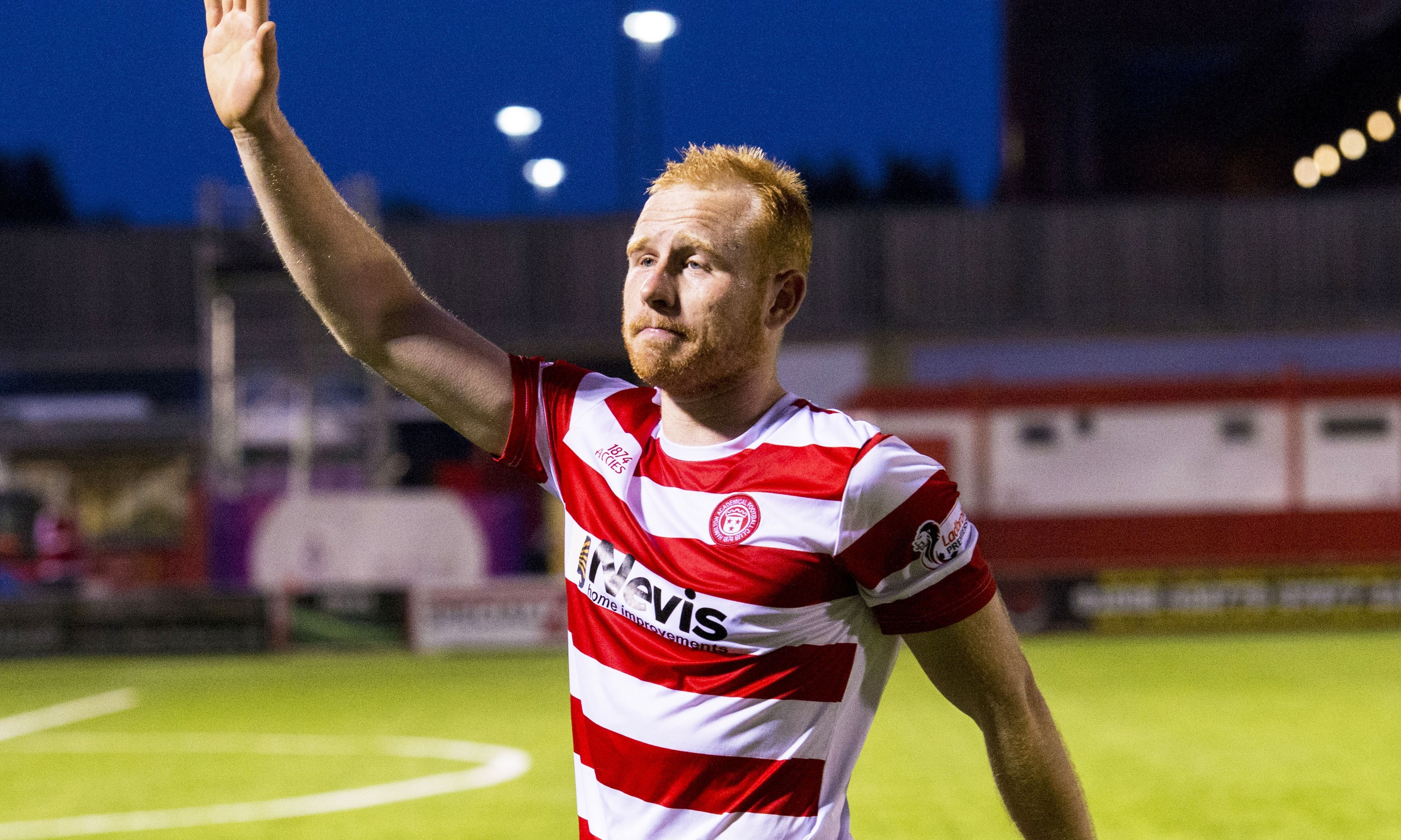 Ziggy Gordon has joined Partick Thistle