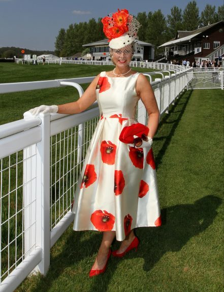 Debbie Grogan won £2,000 when she was judged to be the best dressed lady.