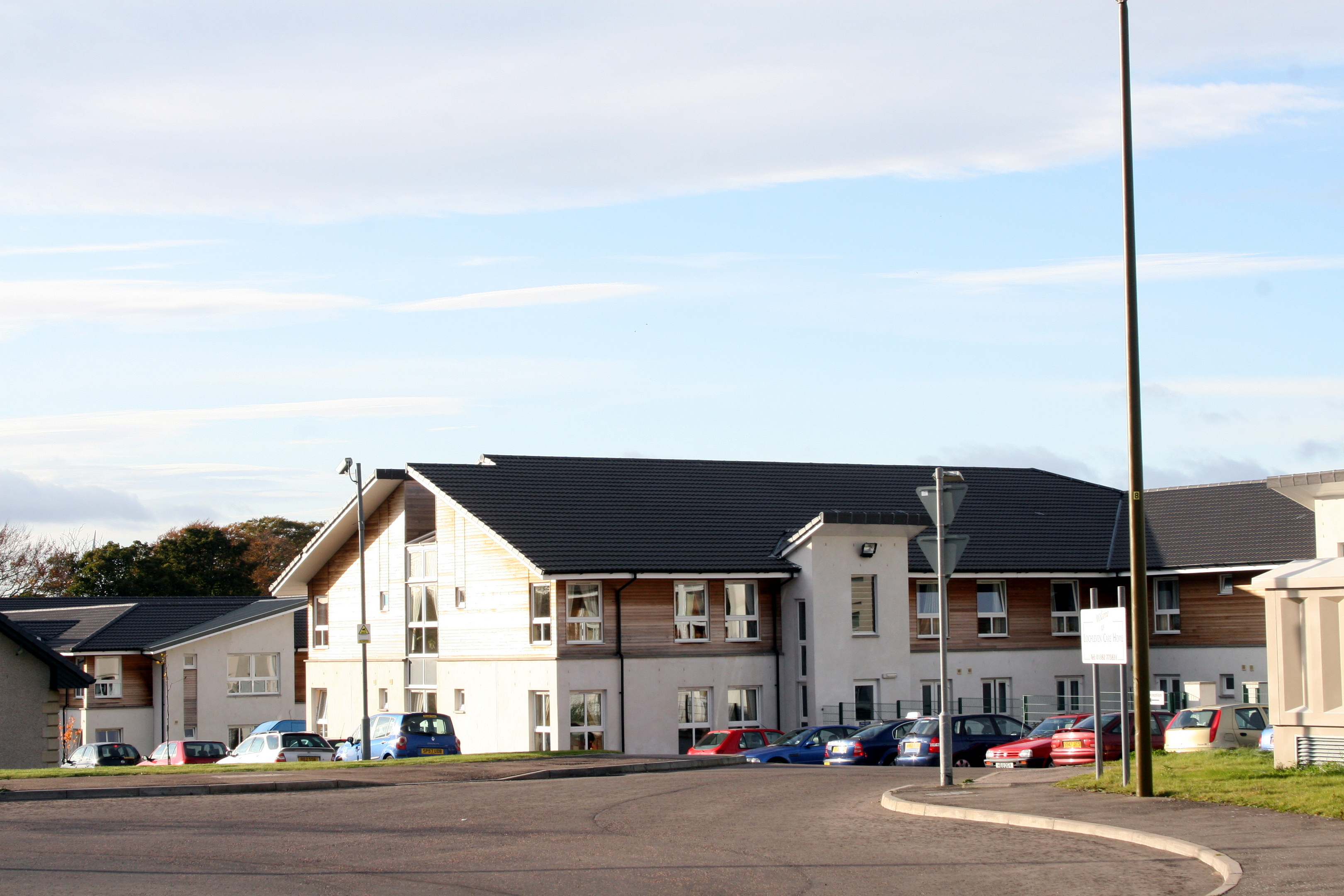 Lochleven Care Home on the edge of Dundee