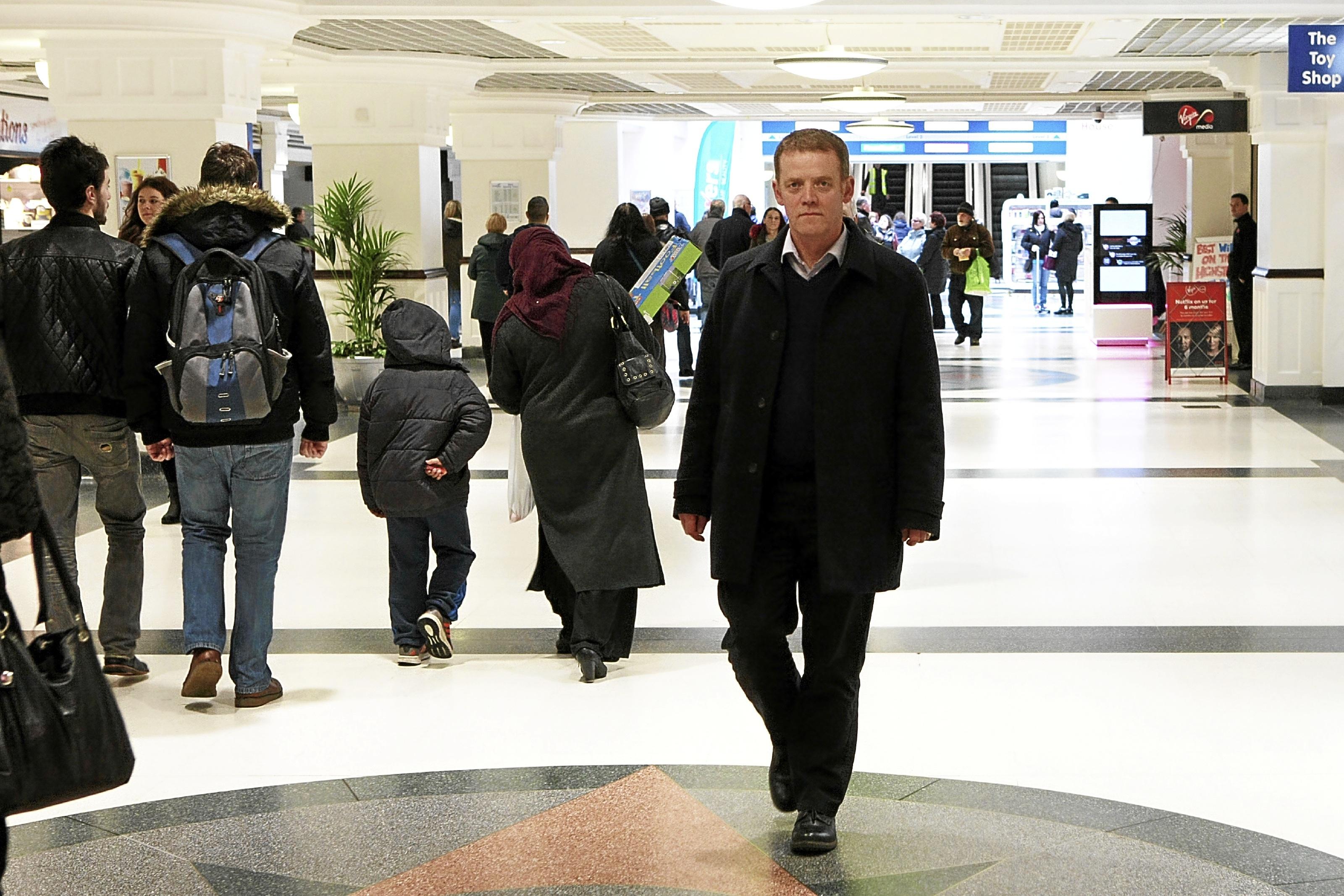 Wellgate centre manager Peter Aitken