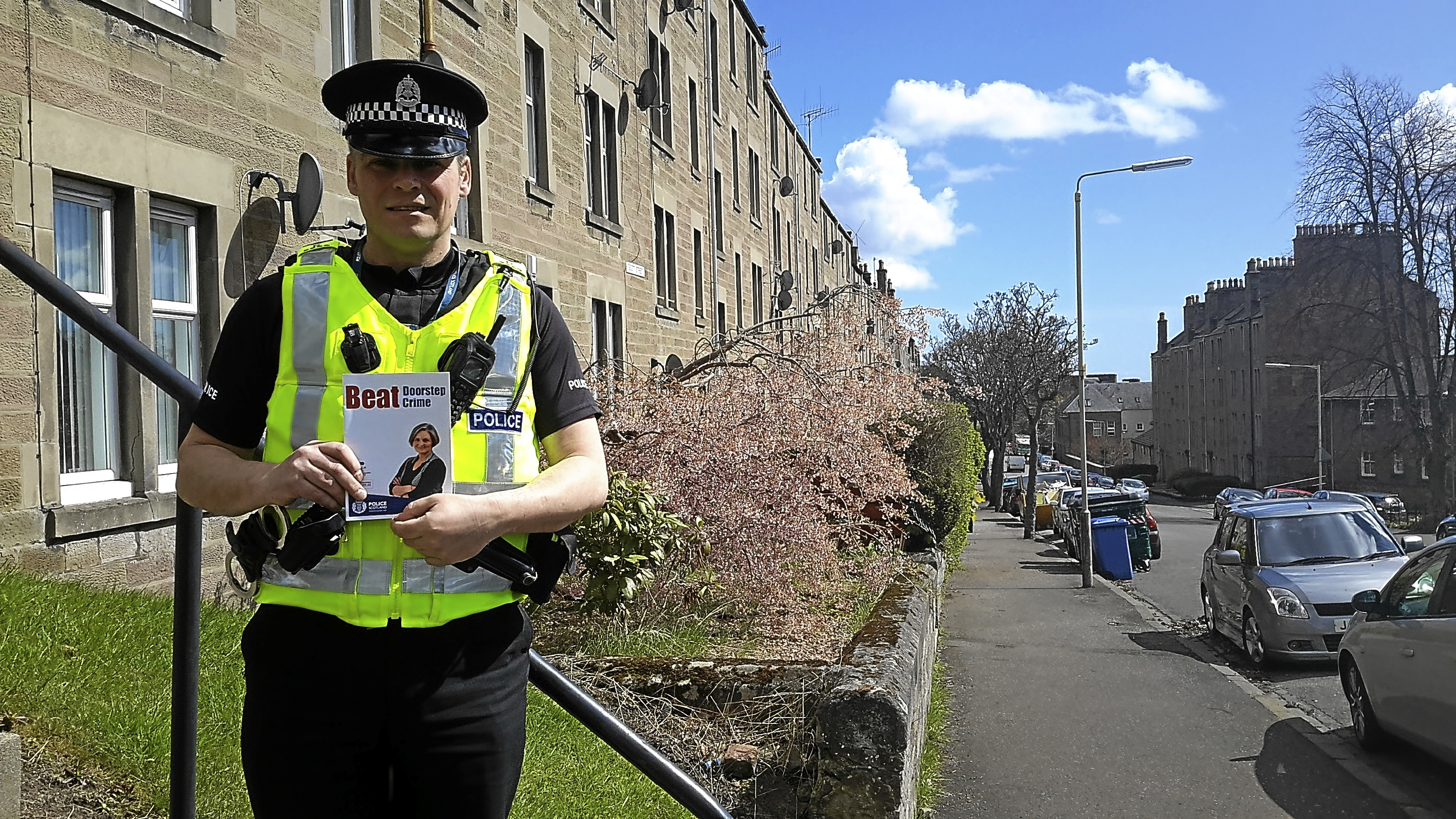 Officers have been raising awareness