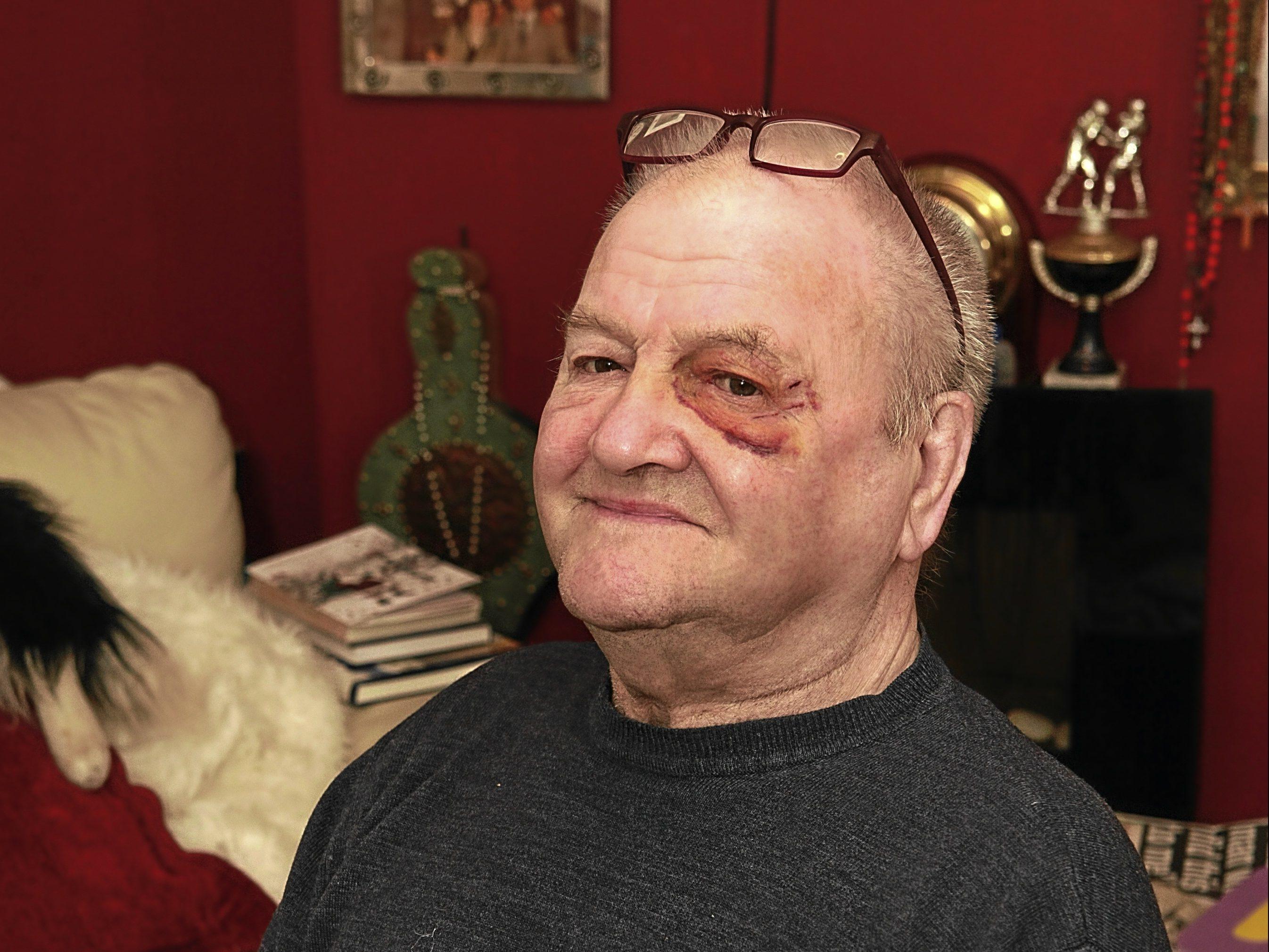 Pensioner Jack Wemyss