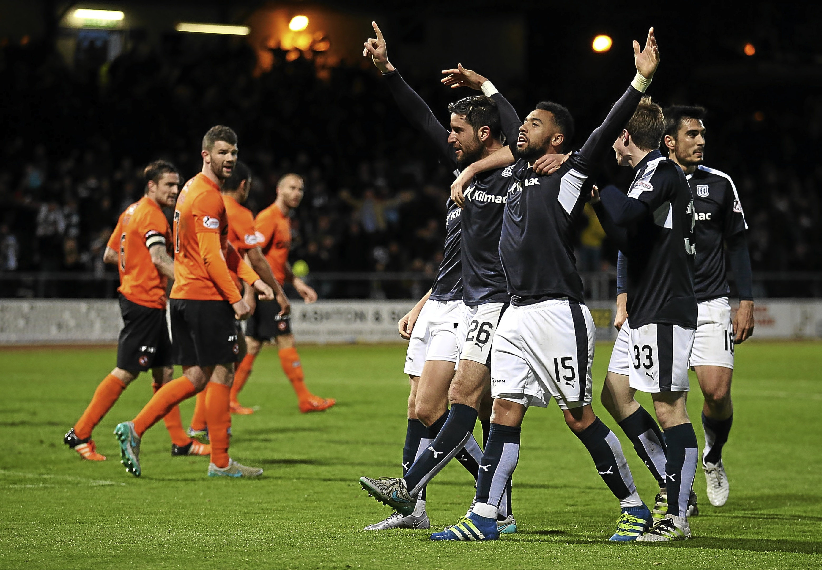 There's no doubt which City of Discovery side is in the ascendancy after Dundee relegated rivals United at Dens.