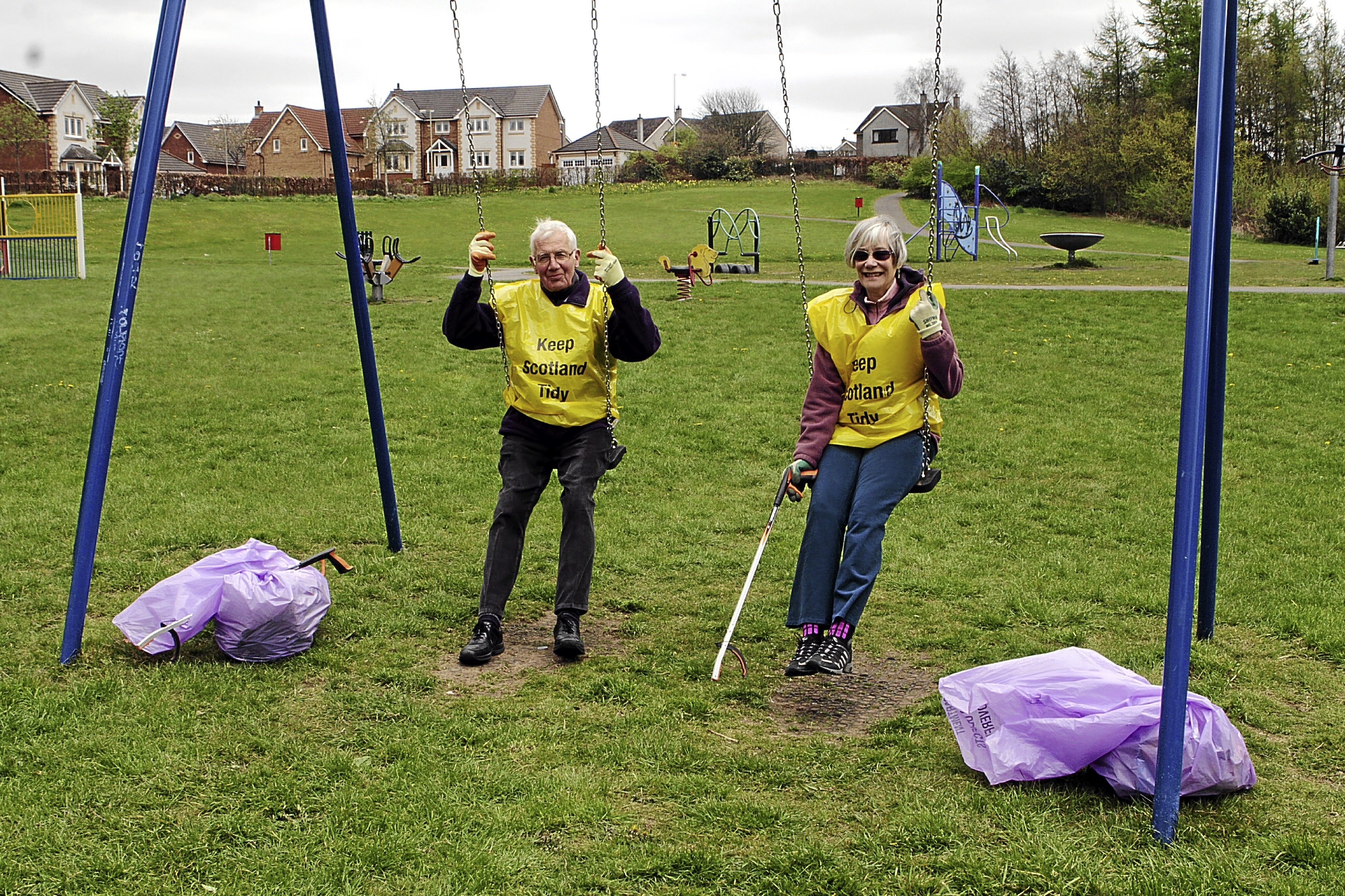 Jeanette Thirsk and husband Stewart spend their spare time helping to maintain and look after their local park. But they now say they need more help.
