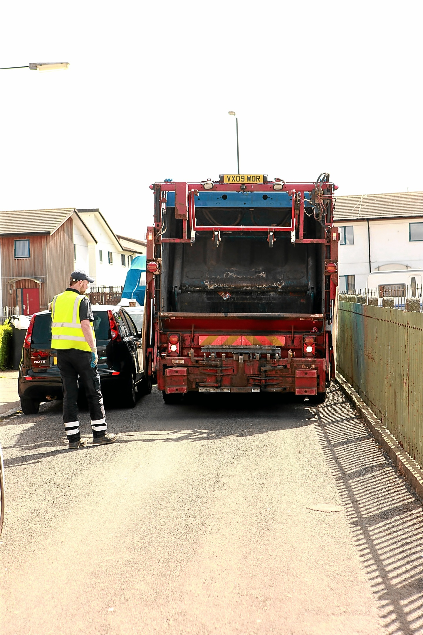 Residents say rubbish has not been collected on a weekly basis.
