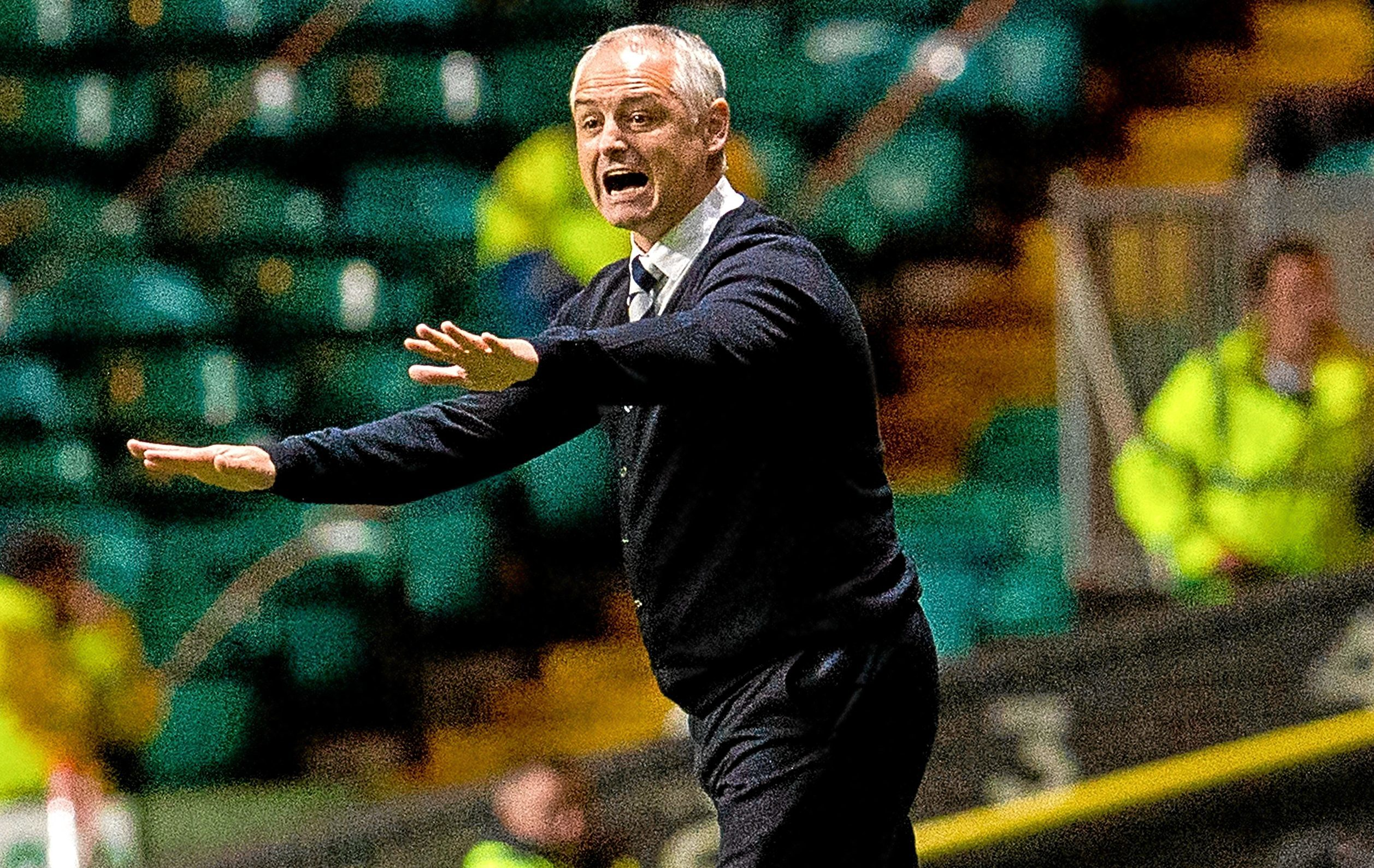 Ray McKinnon during his time at Raith