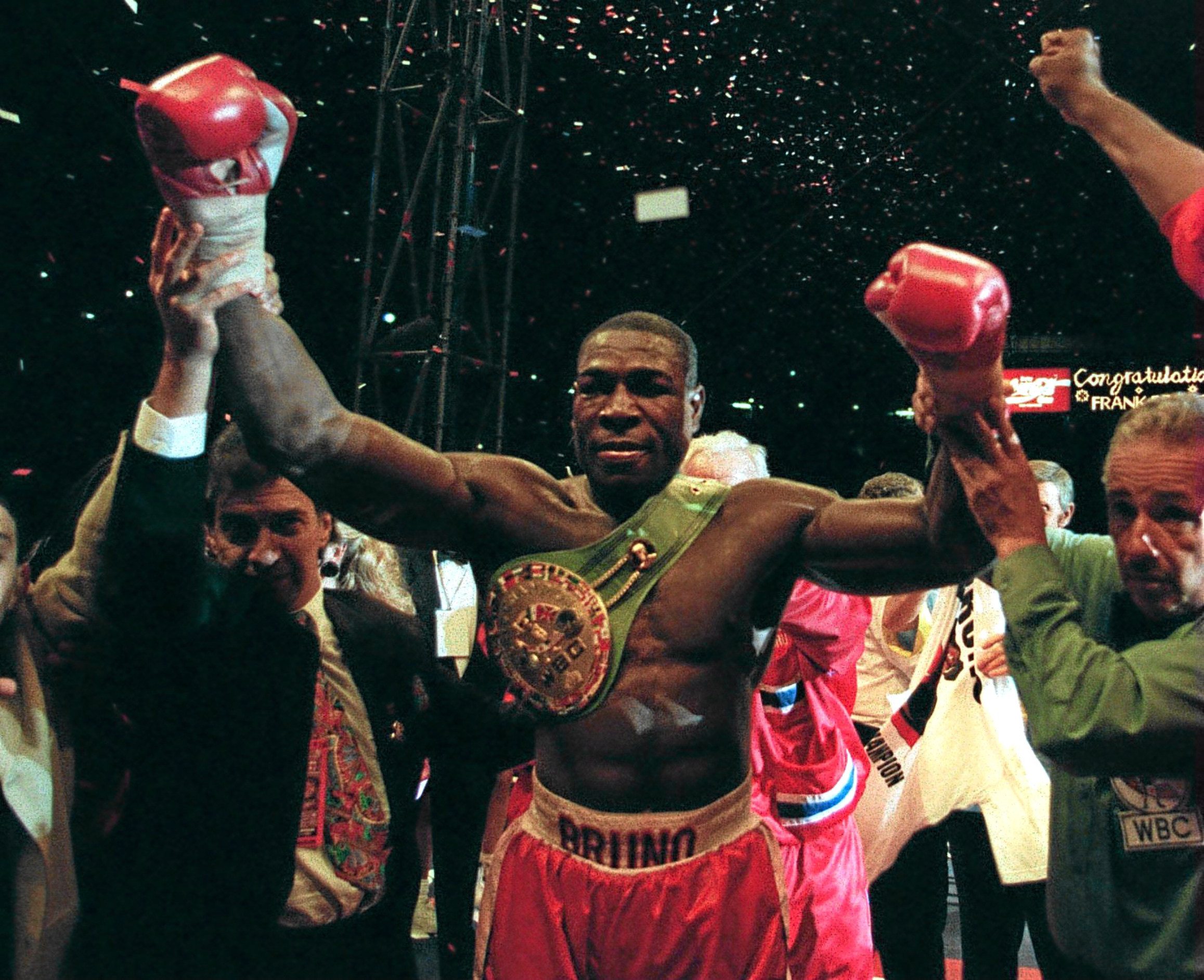 Frank Bruno is coming to Dundee