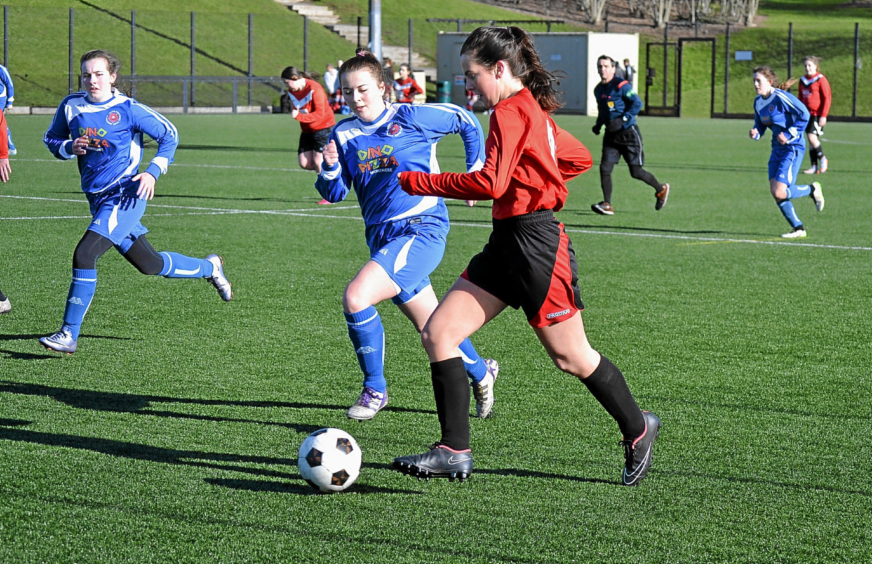 Clubs like Monifieth develop young players